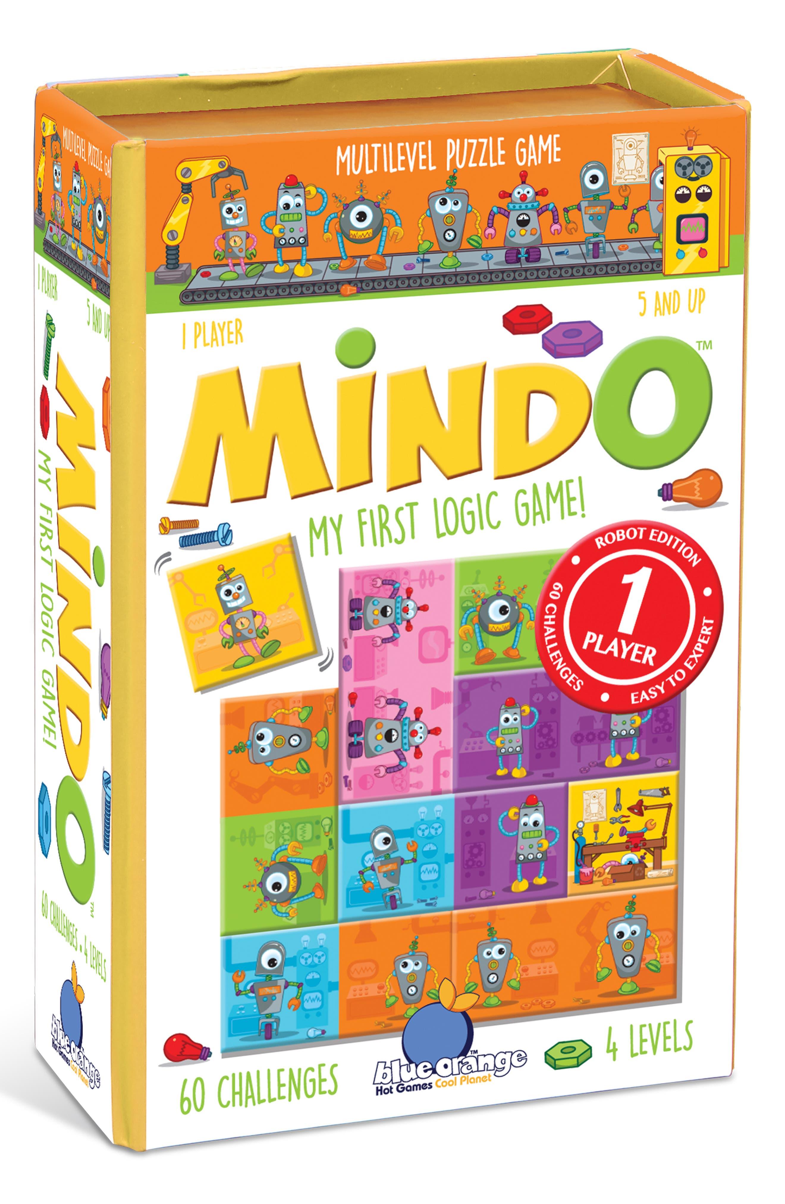 Mindo Robot Logic Game,                         Main,                         color, 961
