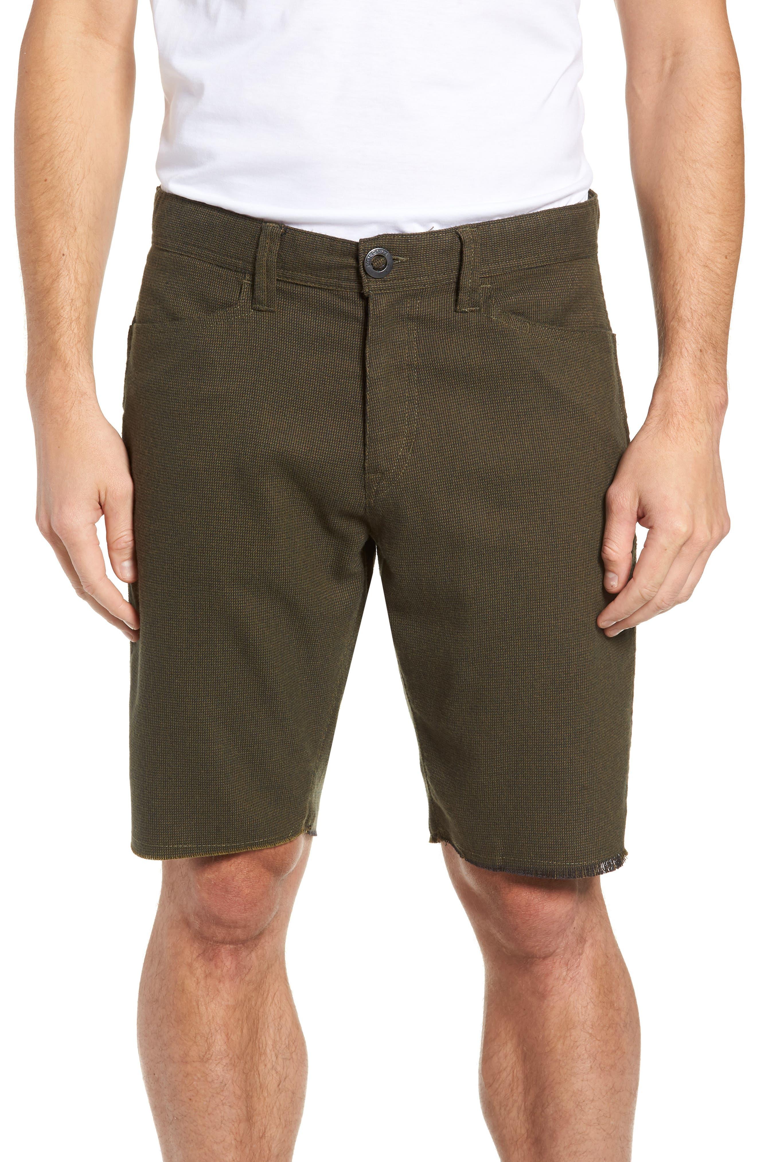 Gritter Thrifter Shorts,                         Main,                         color, GREENTEA