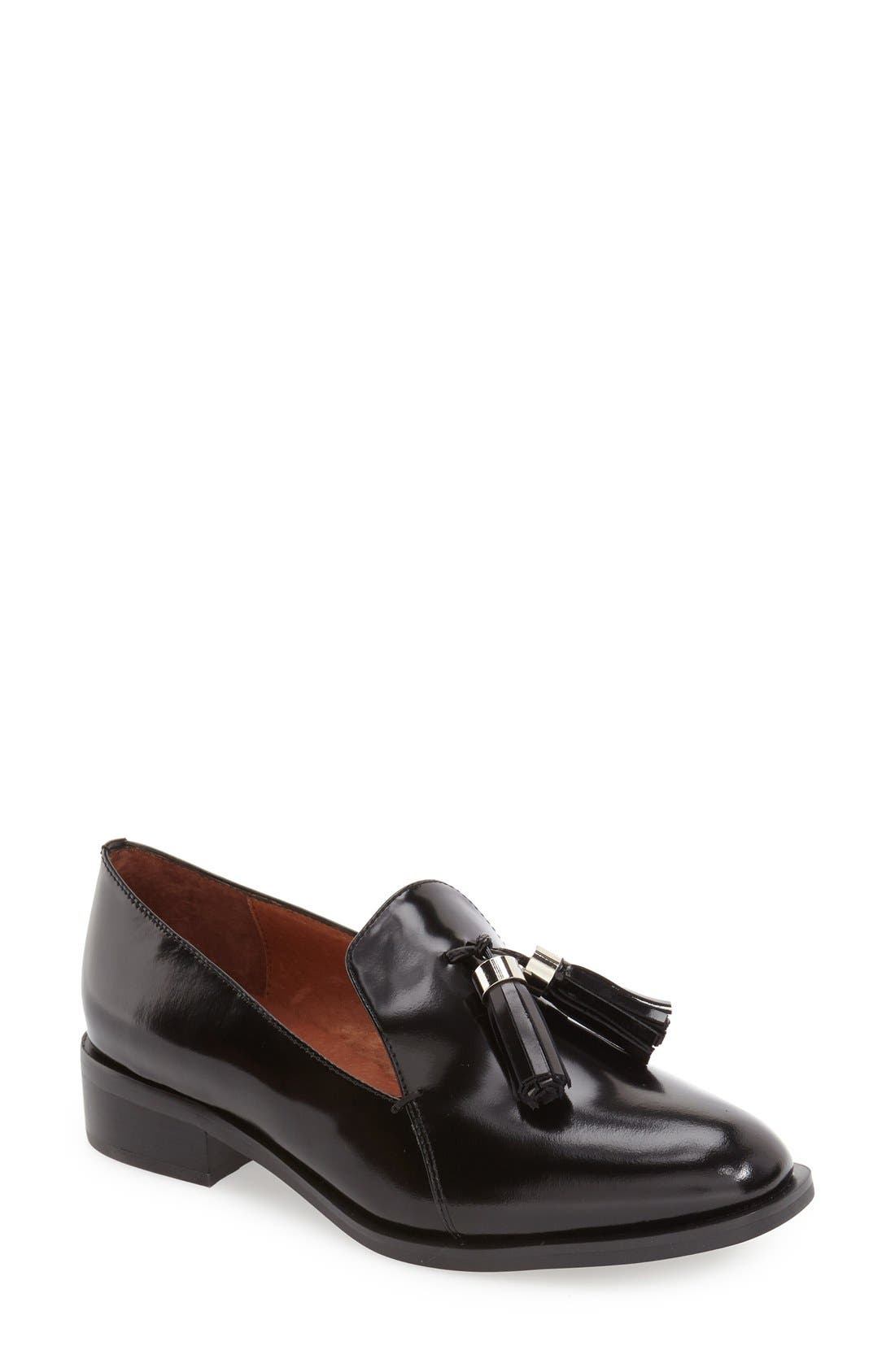 'Lawford' Tassel Loafer,                             Main thumbnail 3, color,