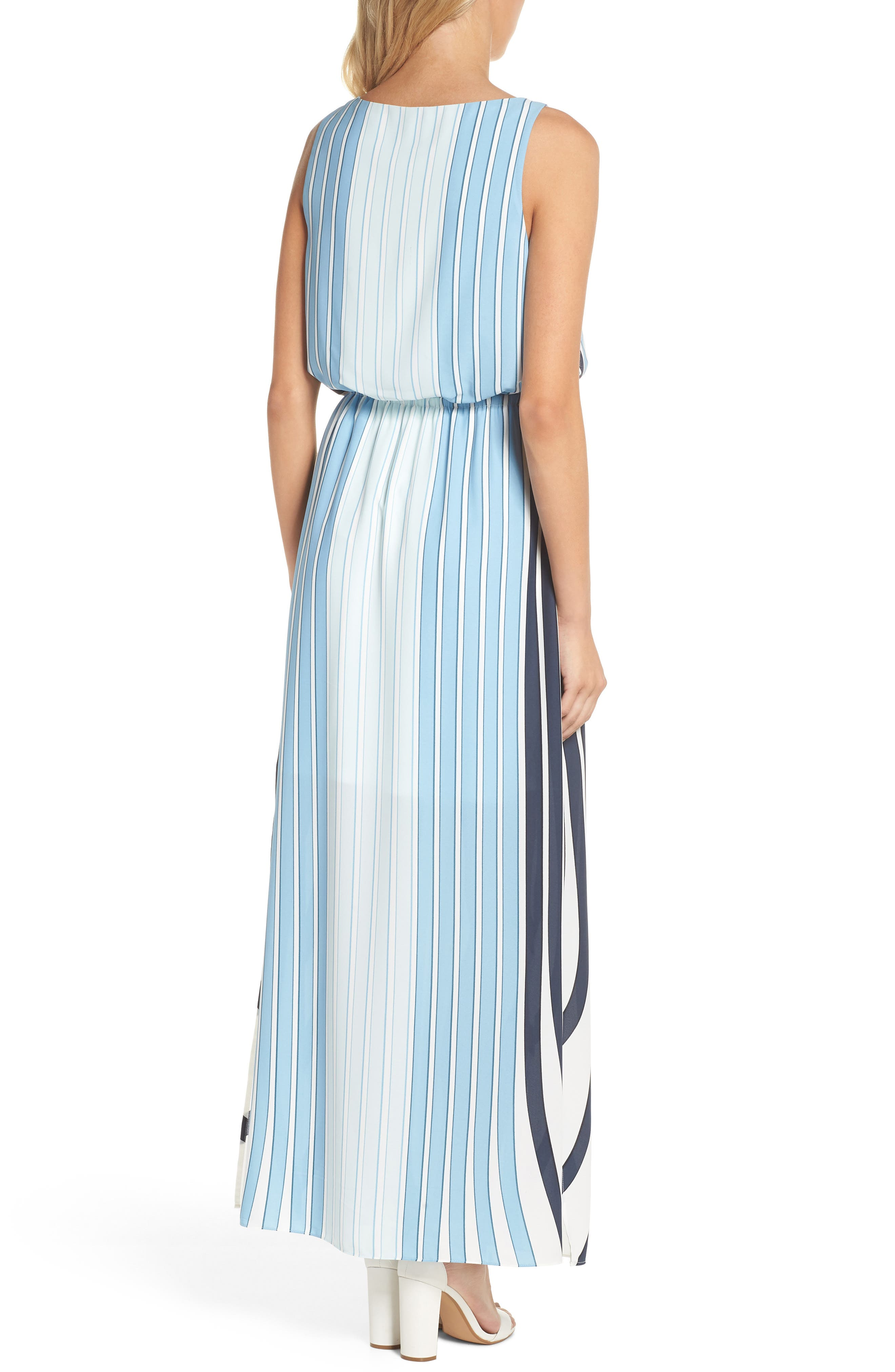 Stripe Maxi Dress,                             Alternate thumbnail 2, color,                             487