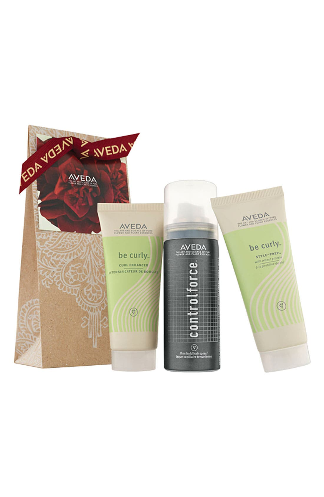 'Curly' Gift Set,                         Main,                         color, 000