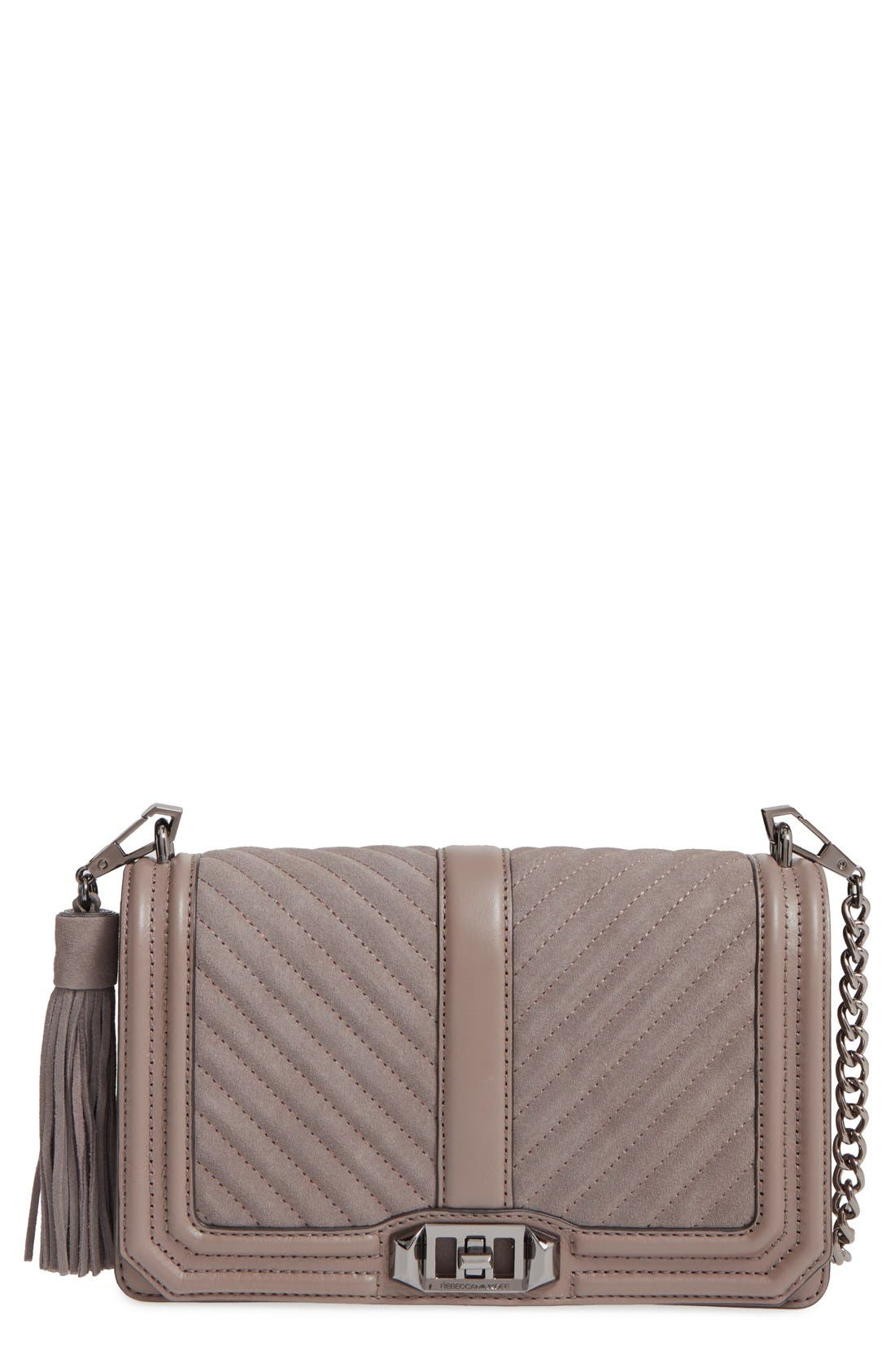 Love Crossbody Bag,                             Main thumbnail 1, color,                             023