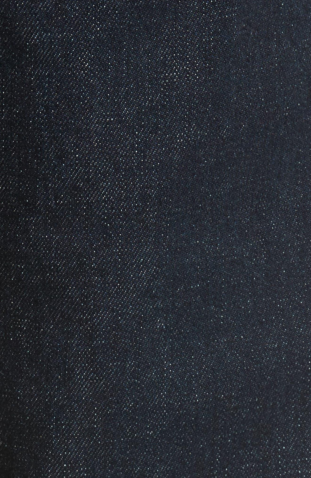 VIGOSS,                             Slim Straight Leg Jeans,                             Alternate thumbnail 6, color,                             DARK RINSE