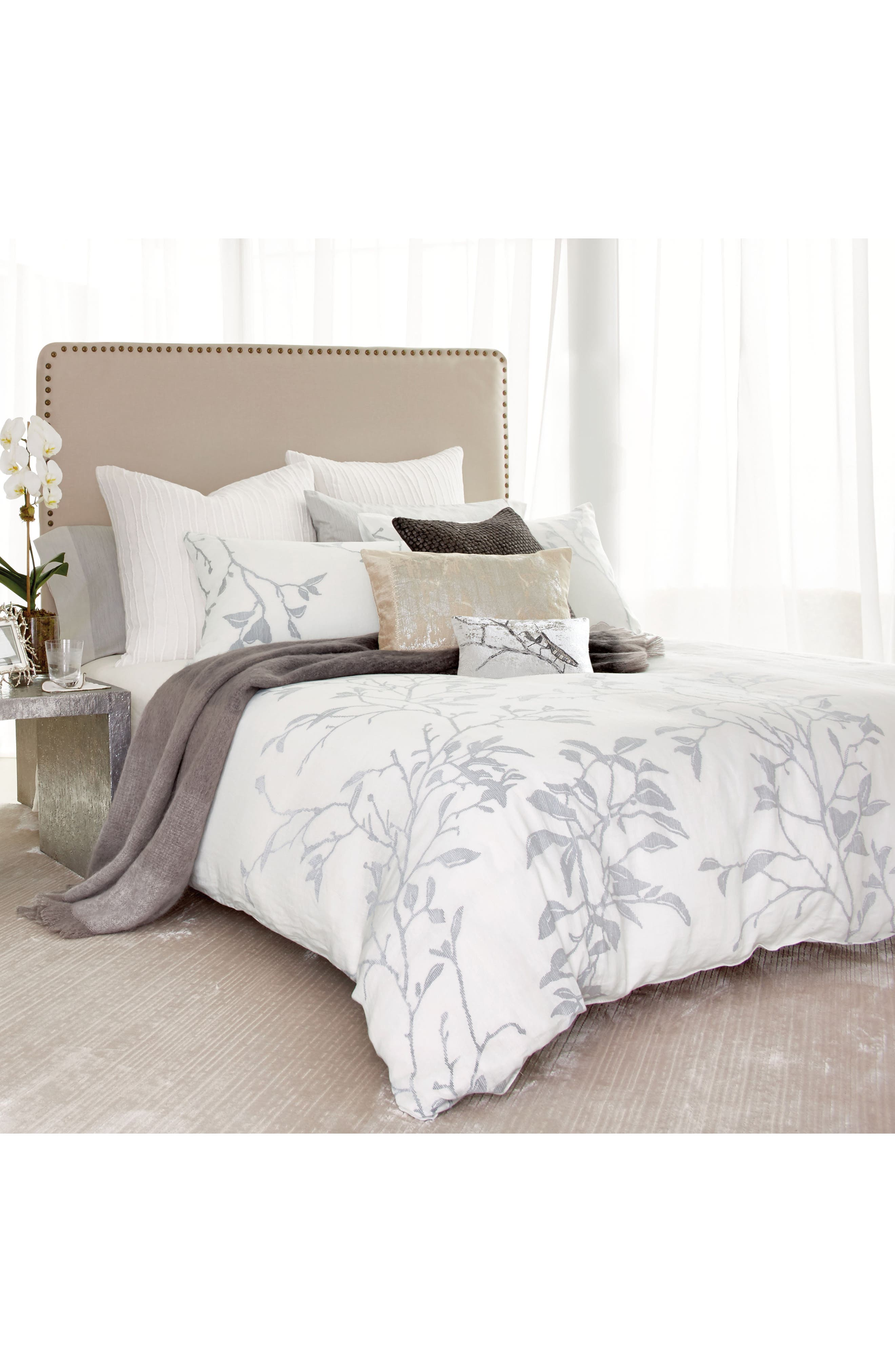 Branch Duvet Cover,                             Alternate thumbnail 4, color,