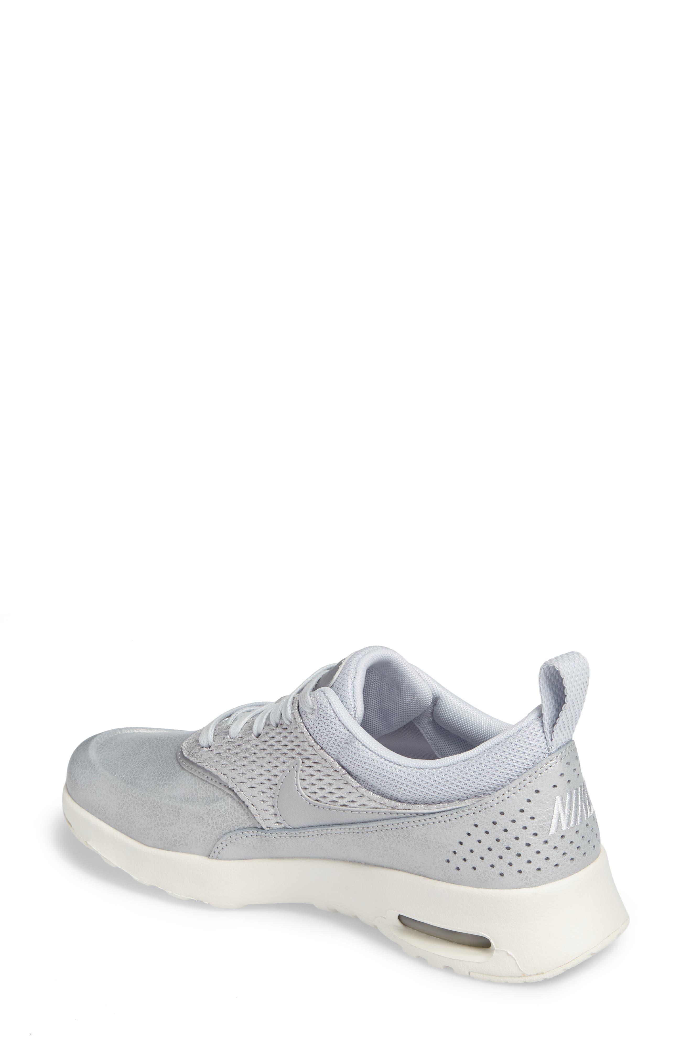 Air Max Thea Premium Sneaker,                             Alternate thumbnail 5, color,