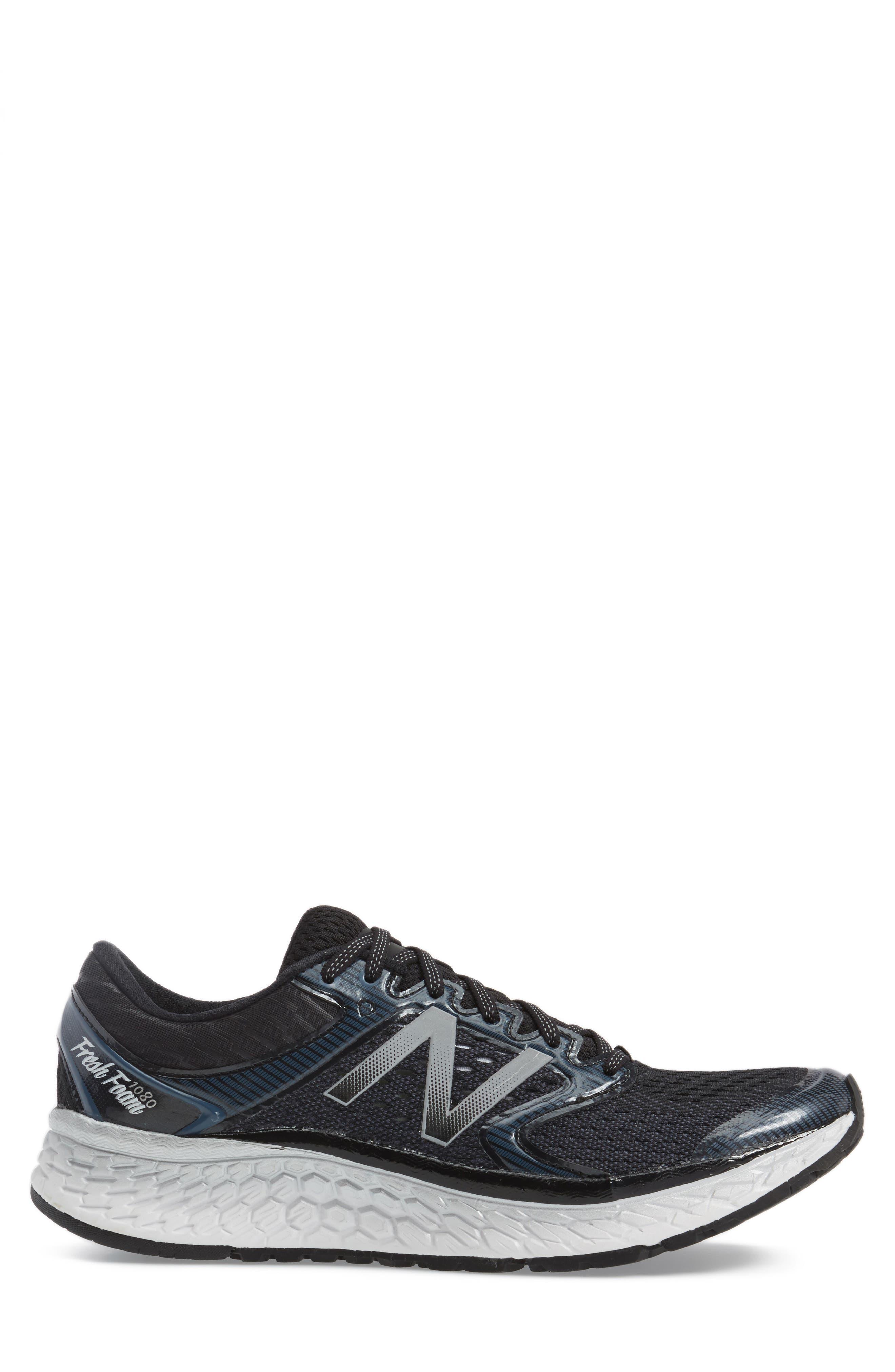 Fresh Foam 1080v7 Running Shoe,                             Alternate thumbnail 3, color,                             004