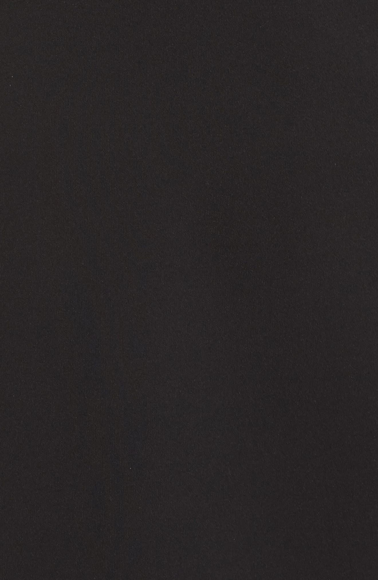 Katherine Lace Fit & Flare Dress,                             Alternate thumbnail 5, color,                             001