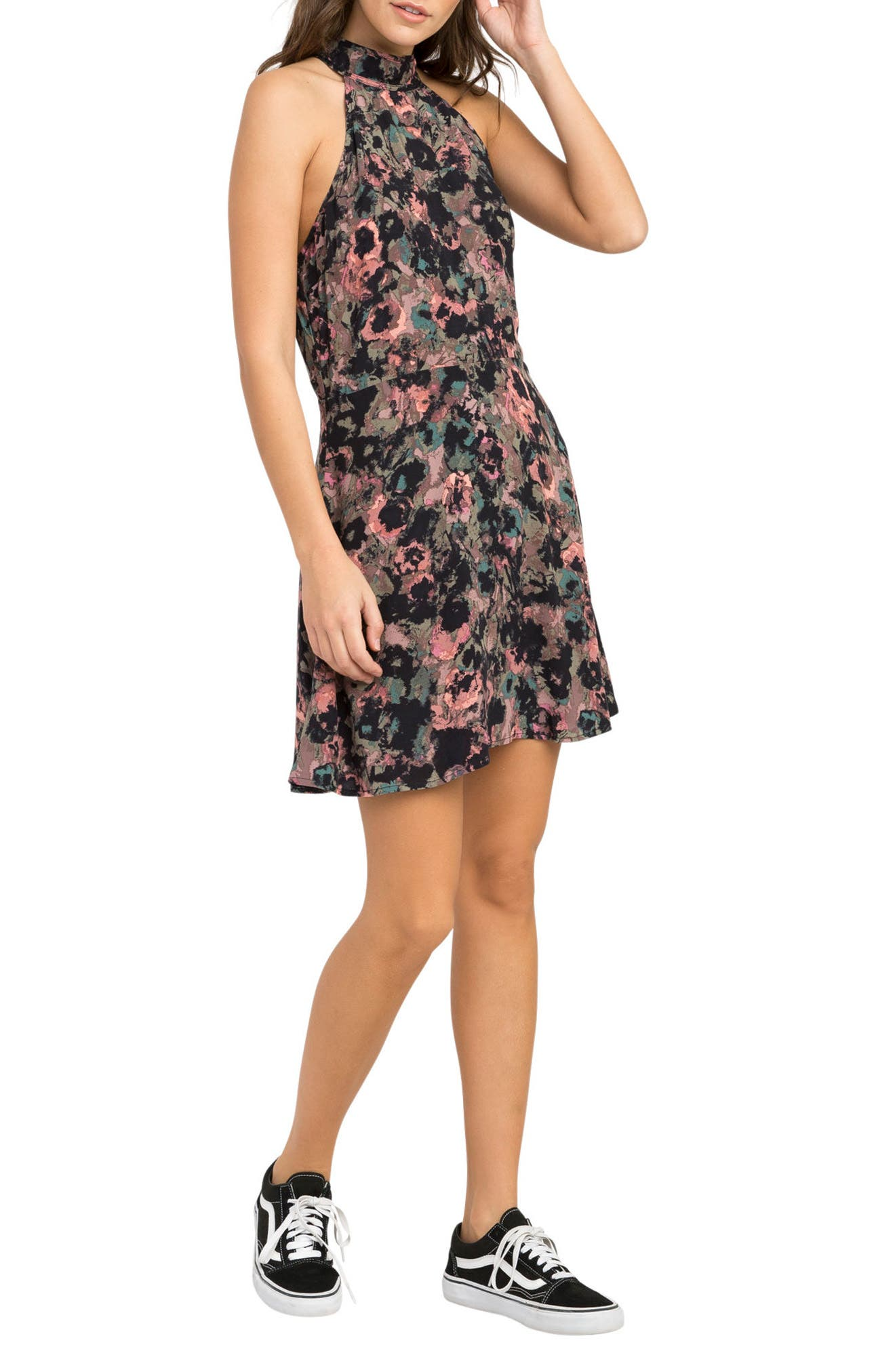 Kingsman Halter Dress,                             Alternate thumbnail 3, color,                             652
