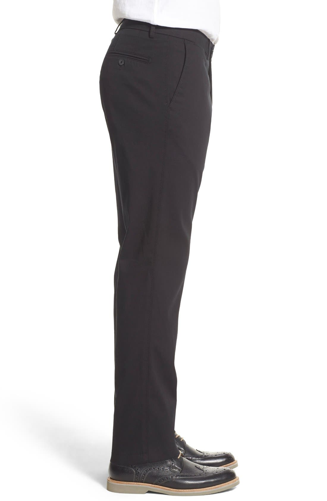 Atwater Cotton Twill Pants,                             Alternate thumbnail 5, color,                             001