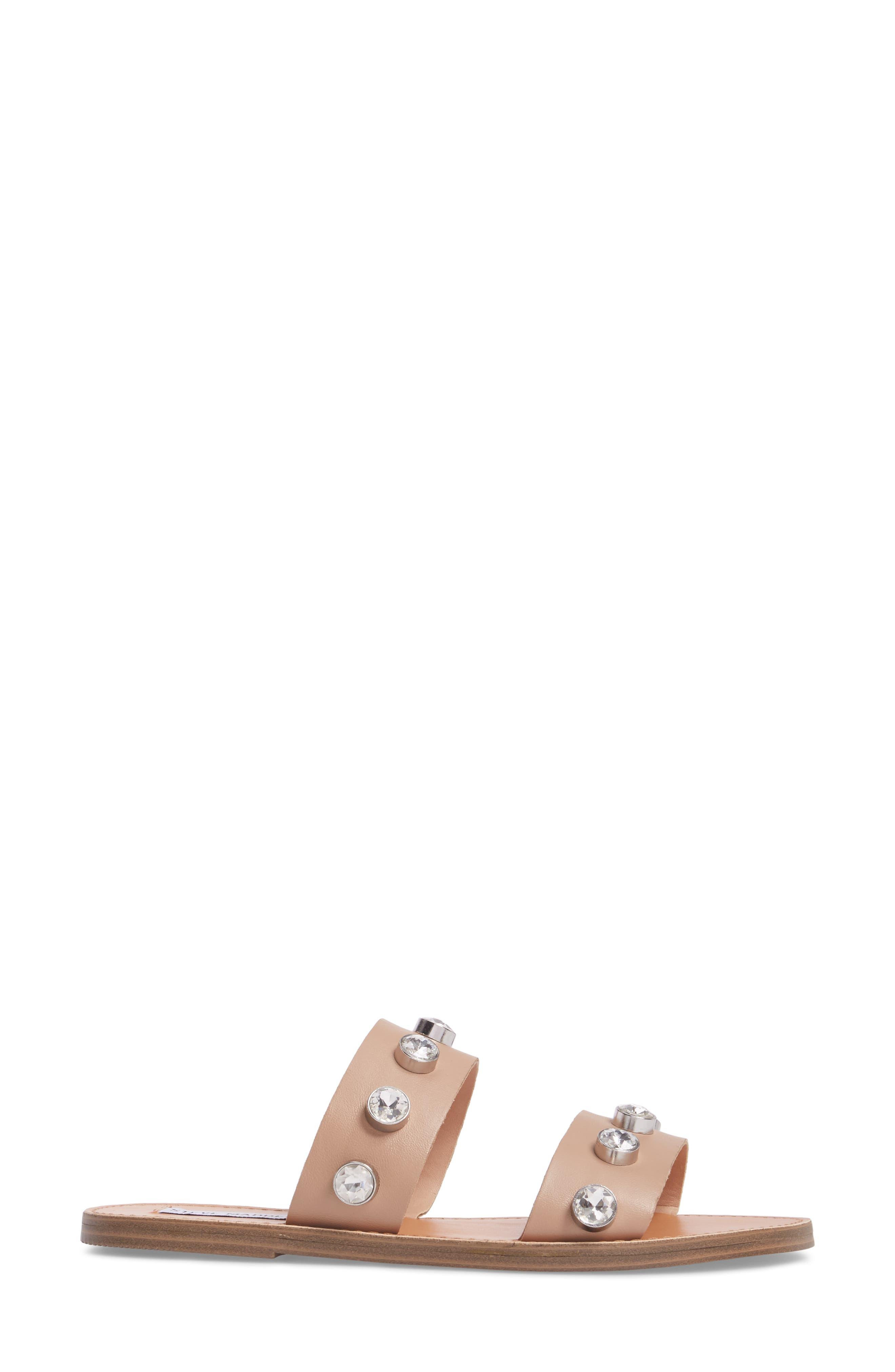 Jessy Embellished Slide Sandal,                             Alternate thumbnail 6, color,