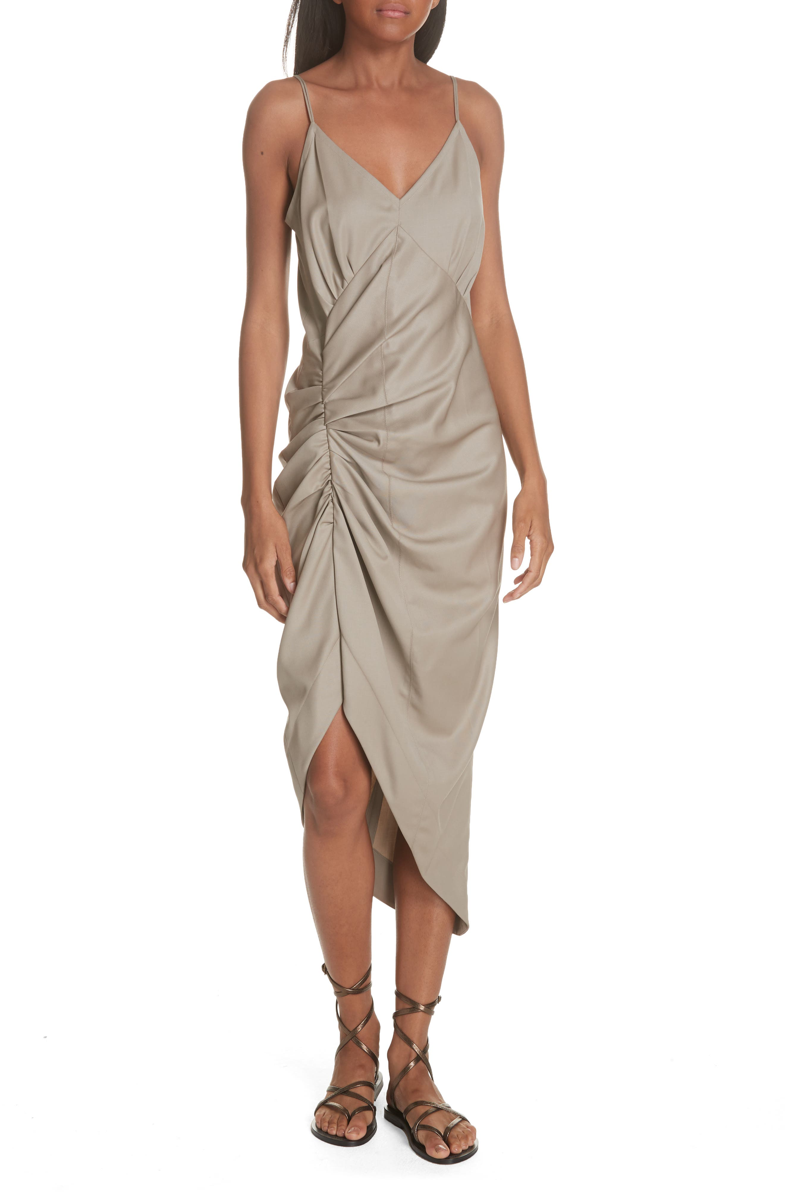Wool Slipdress, Main, color, SEED