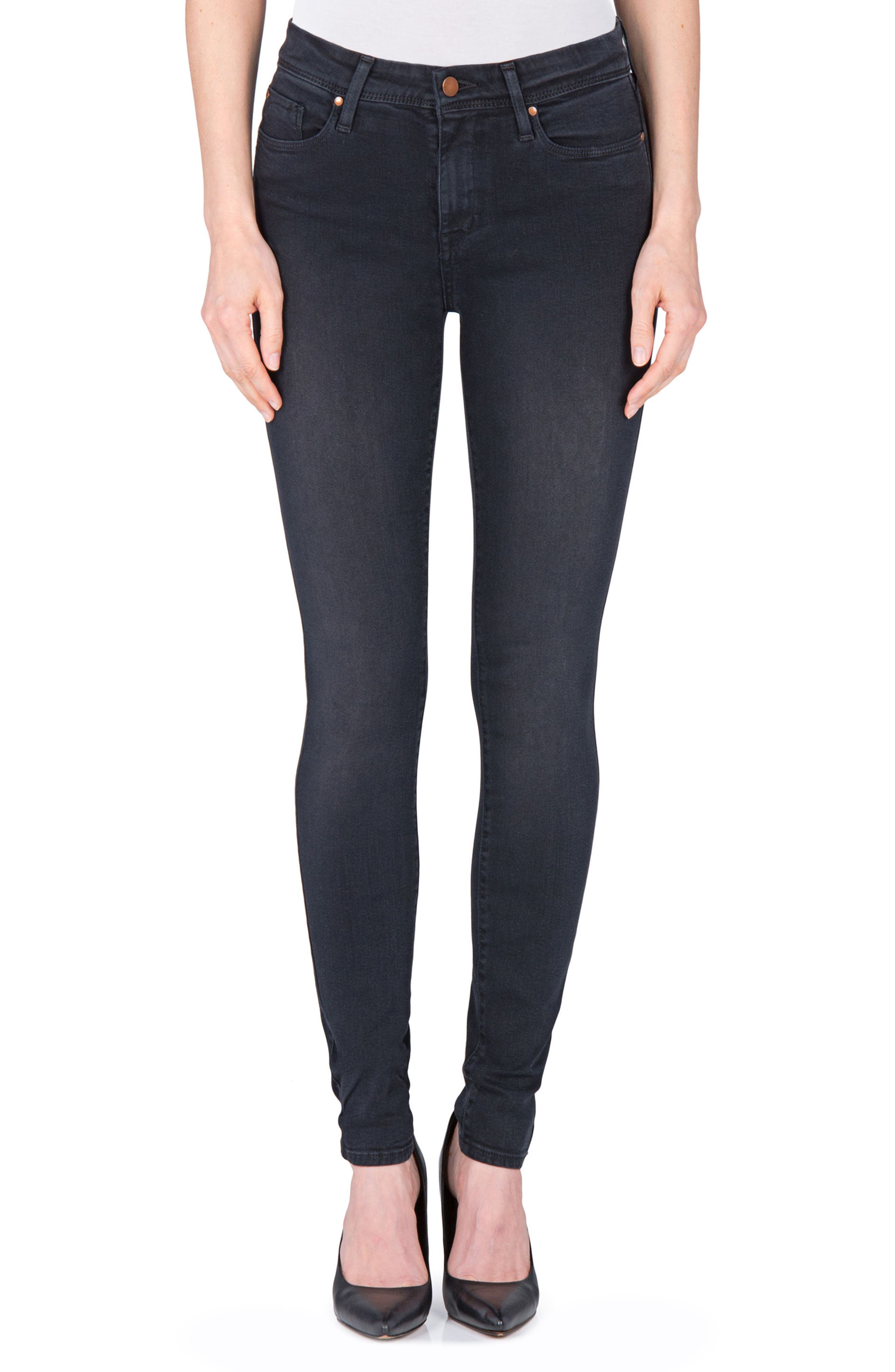 Belvedere Skinny Jeans,                         Main,                         color, 001