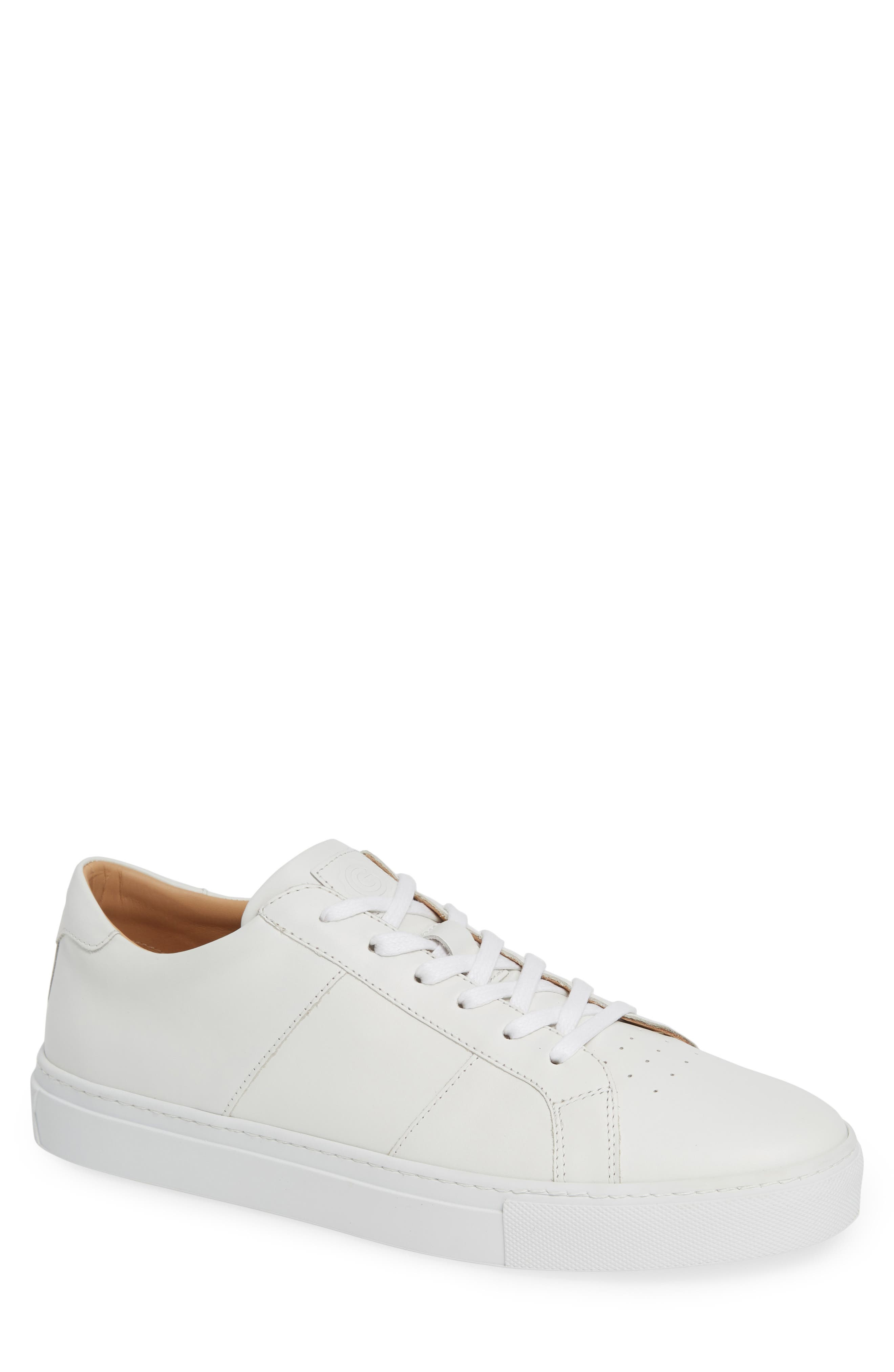 GREATS Royale Sneaker in White Flat Leather