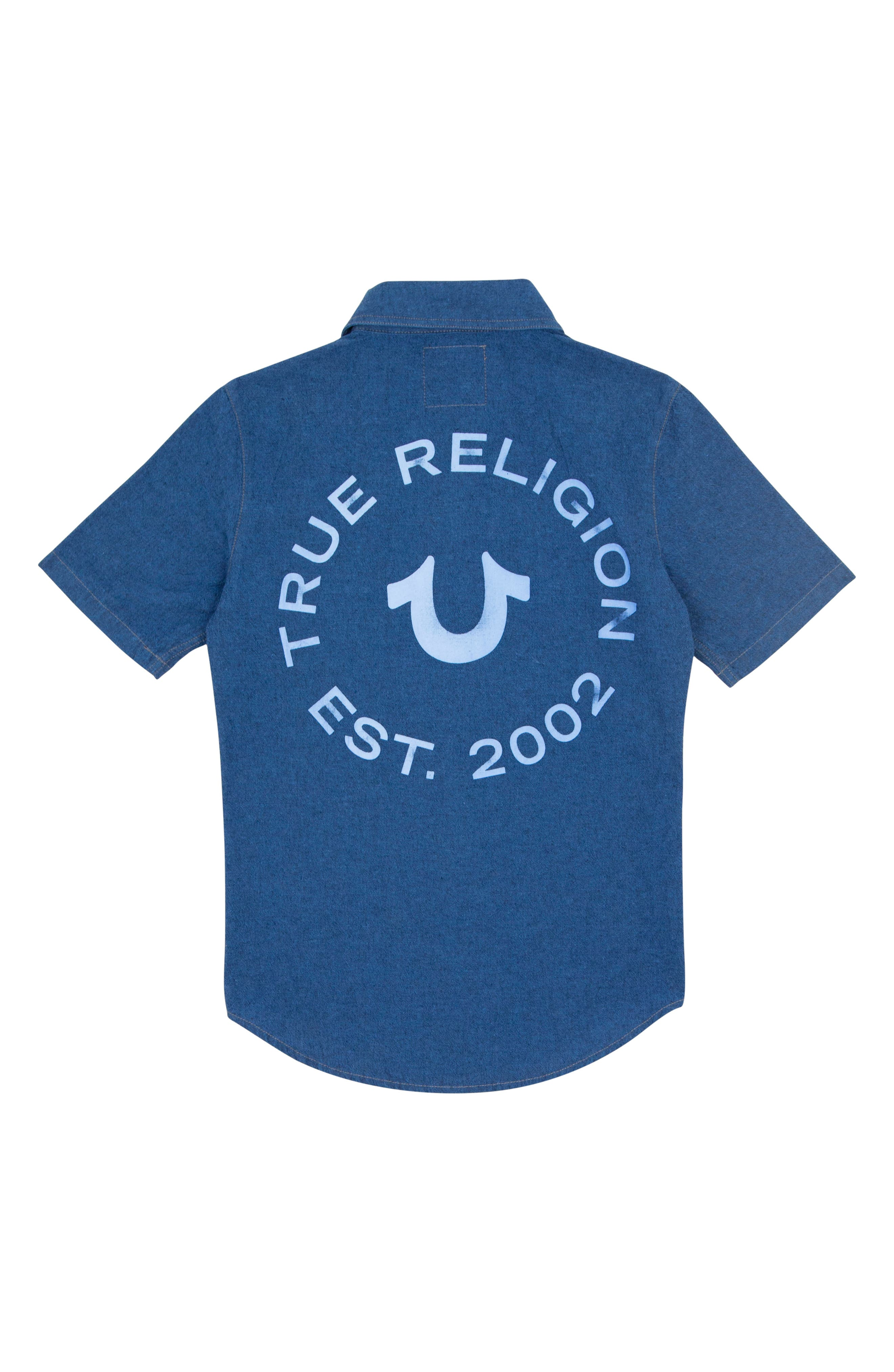 Woven Shirt,                             Alternate thumbnail 2, color,                             ROYAL BLUE