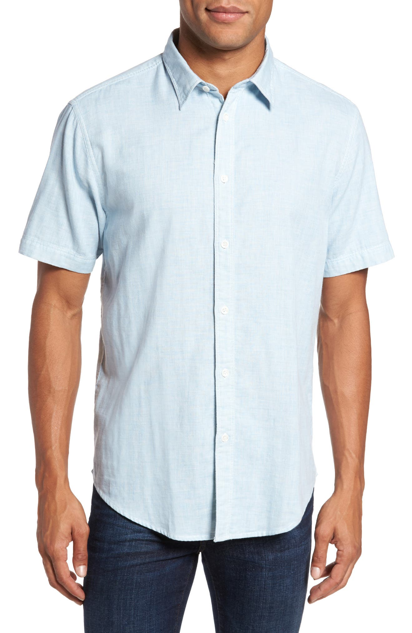 Encinitas Regular Fit Sport Shirt,                         Main,                         color, 451