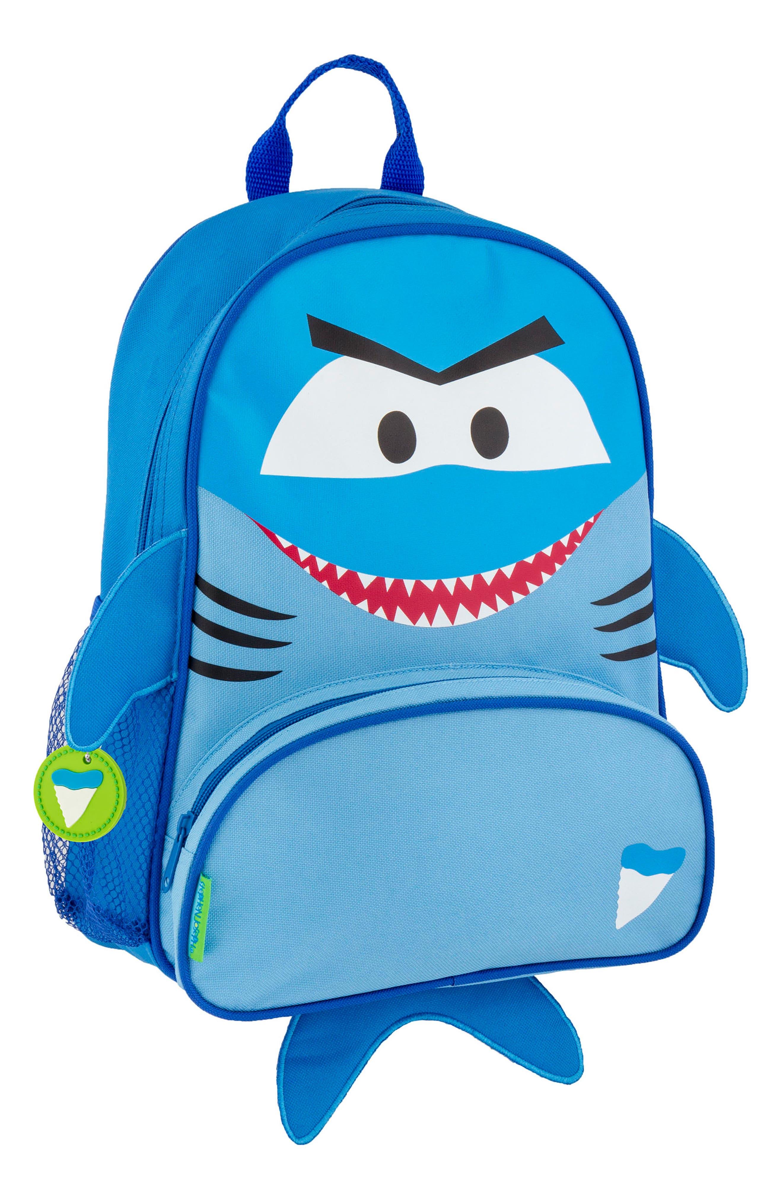 Shark Sidekick Backpack & Lunch Pal,                             Alternate thumbnail 4, color,                             SHARK