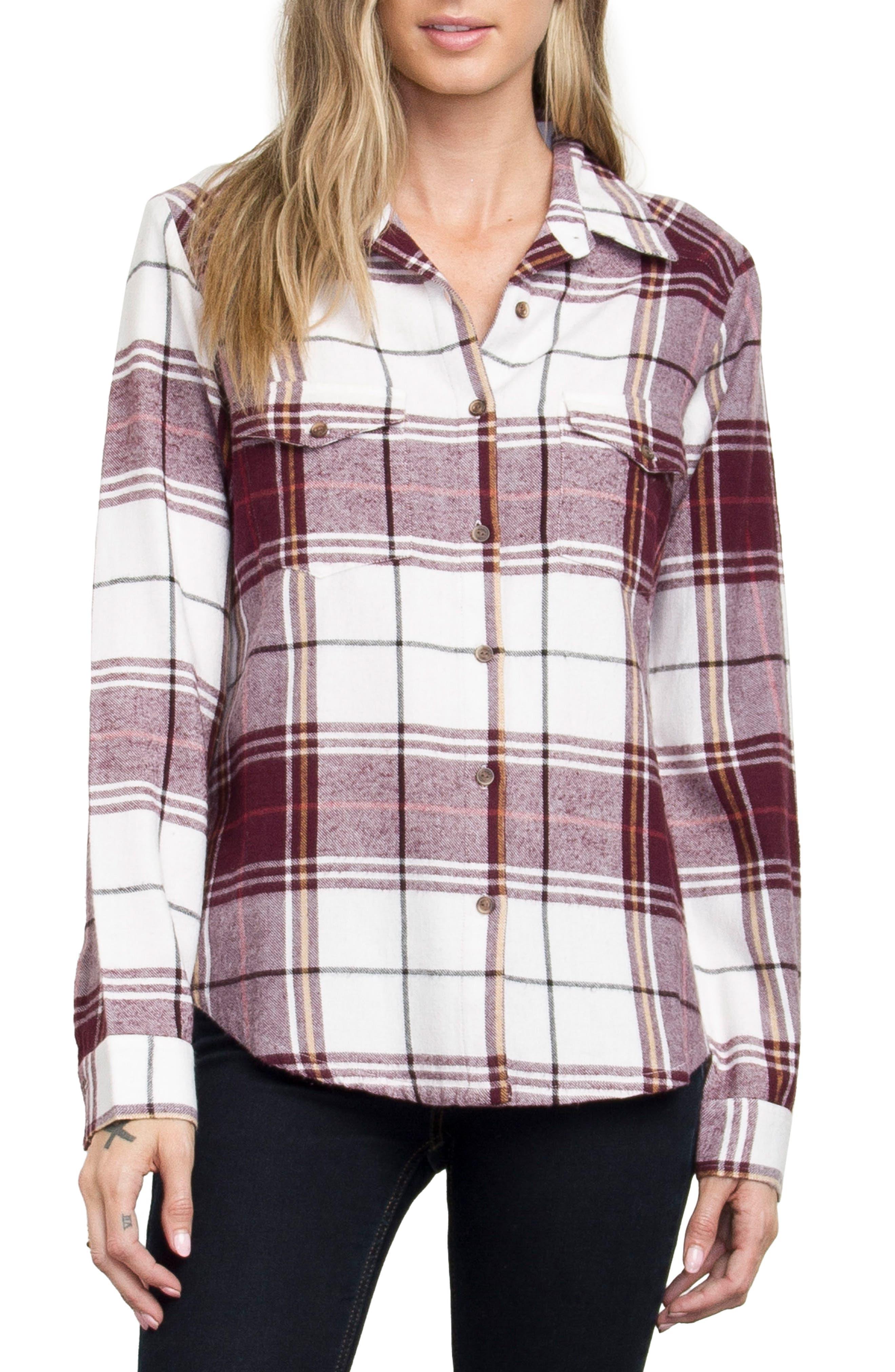 Plaid Flannel Shirt,                             Alternate thumbnail 12, color,