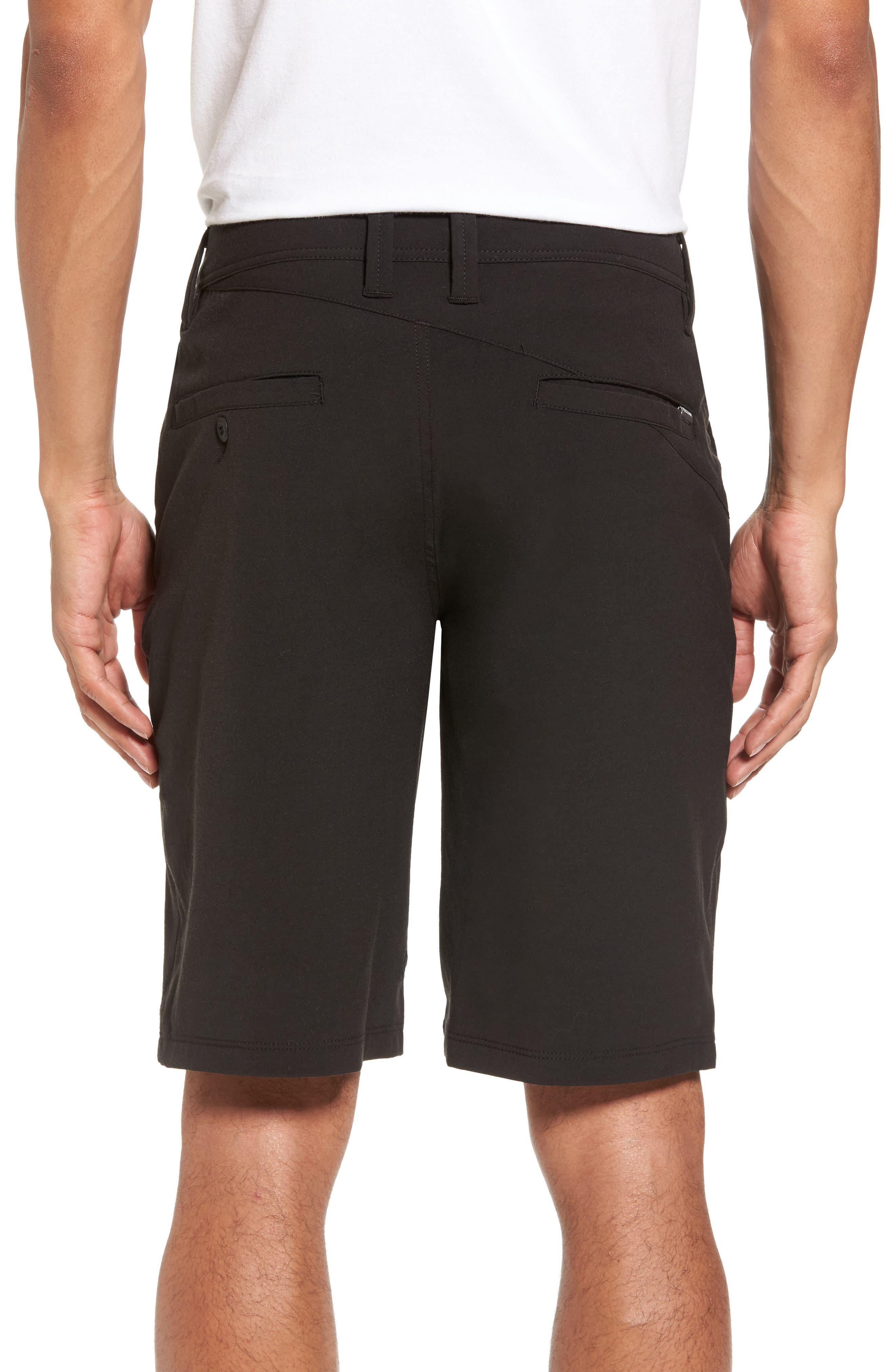 Hybrid Shorts,                             Alternate thumbnail 2, color,                             BLACK