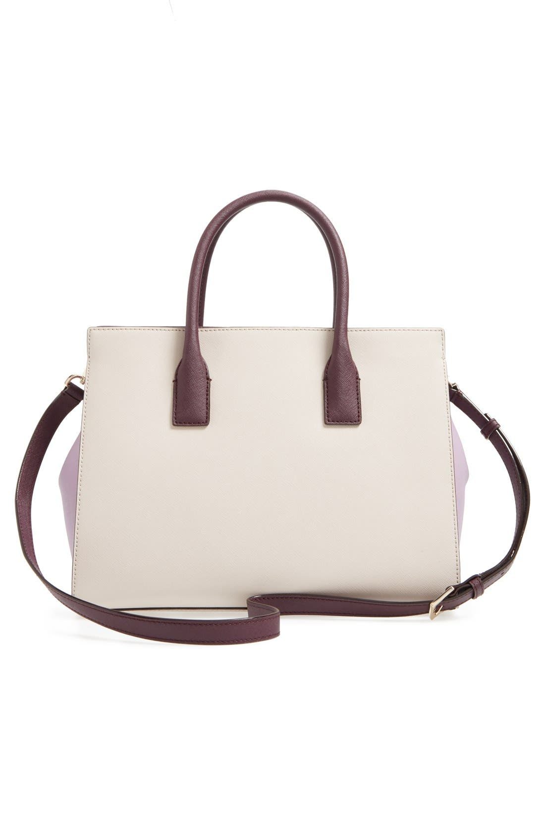 cameron street - candace leather satchel,                             Alternate thumbnail 63, color,