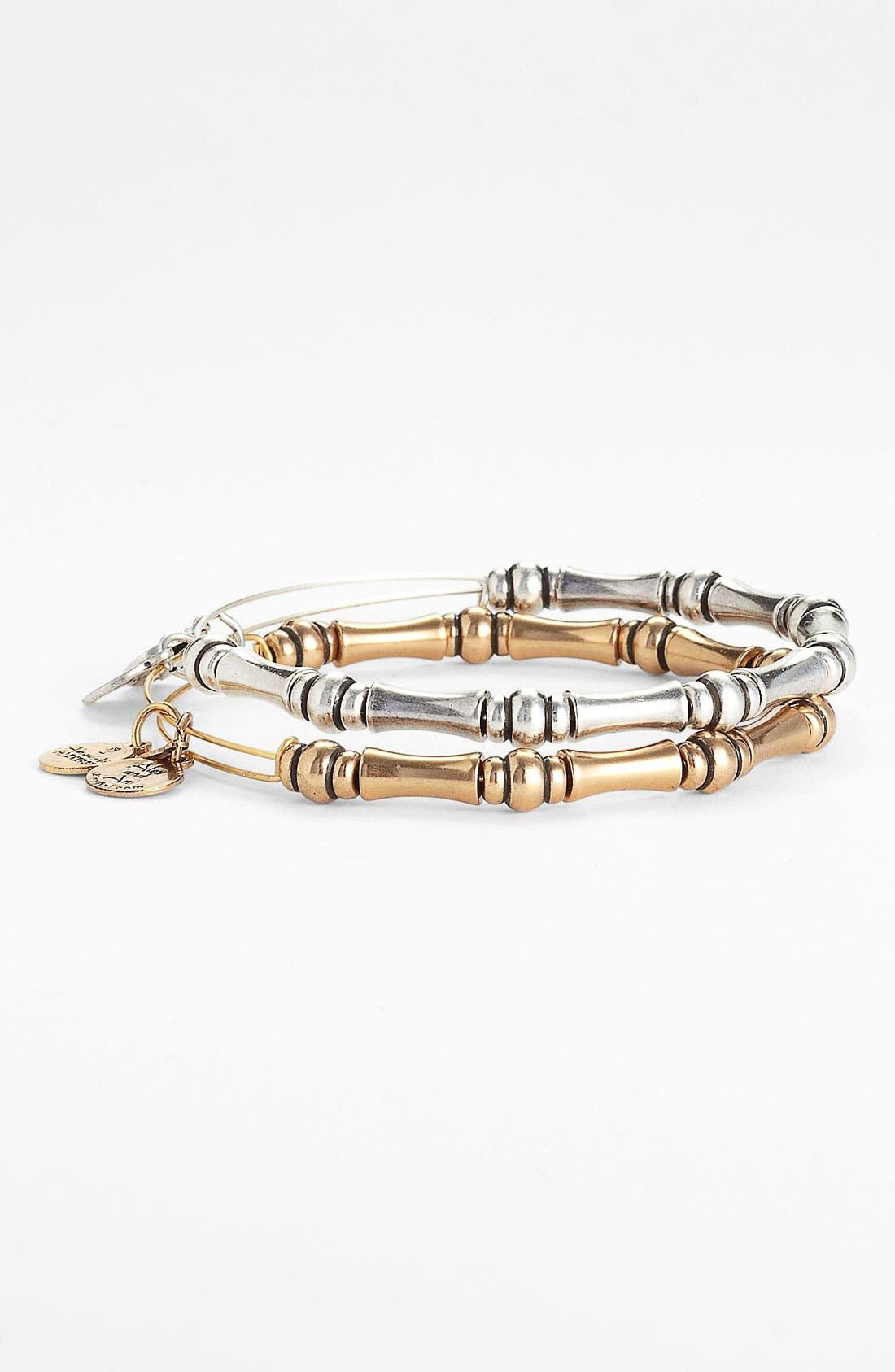 'Bamboo Motif' Expandable Wire Bracelet,                             Alternate thumbnail 2, color,                             040