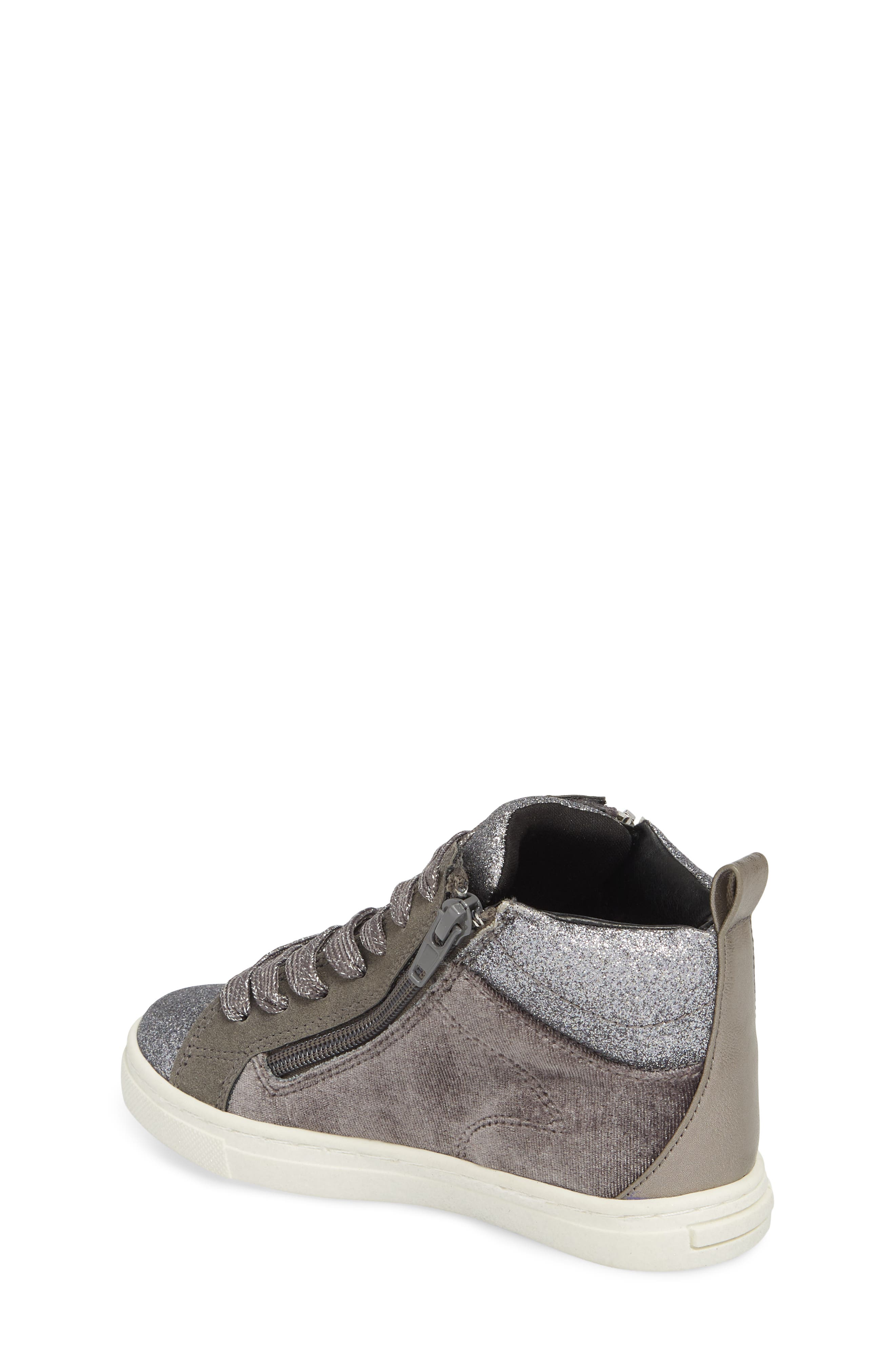 DOLCE VITA,                             Zaila Glitter High Top Sneaker,                             Alternate thumbnail 2, color,                             034
