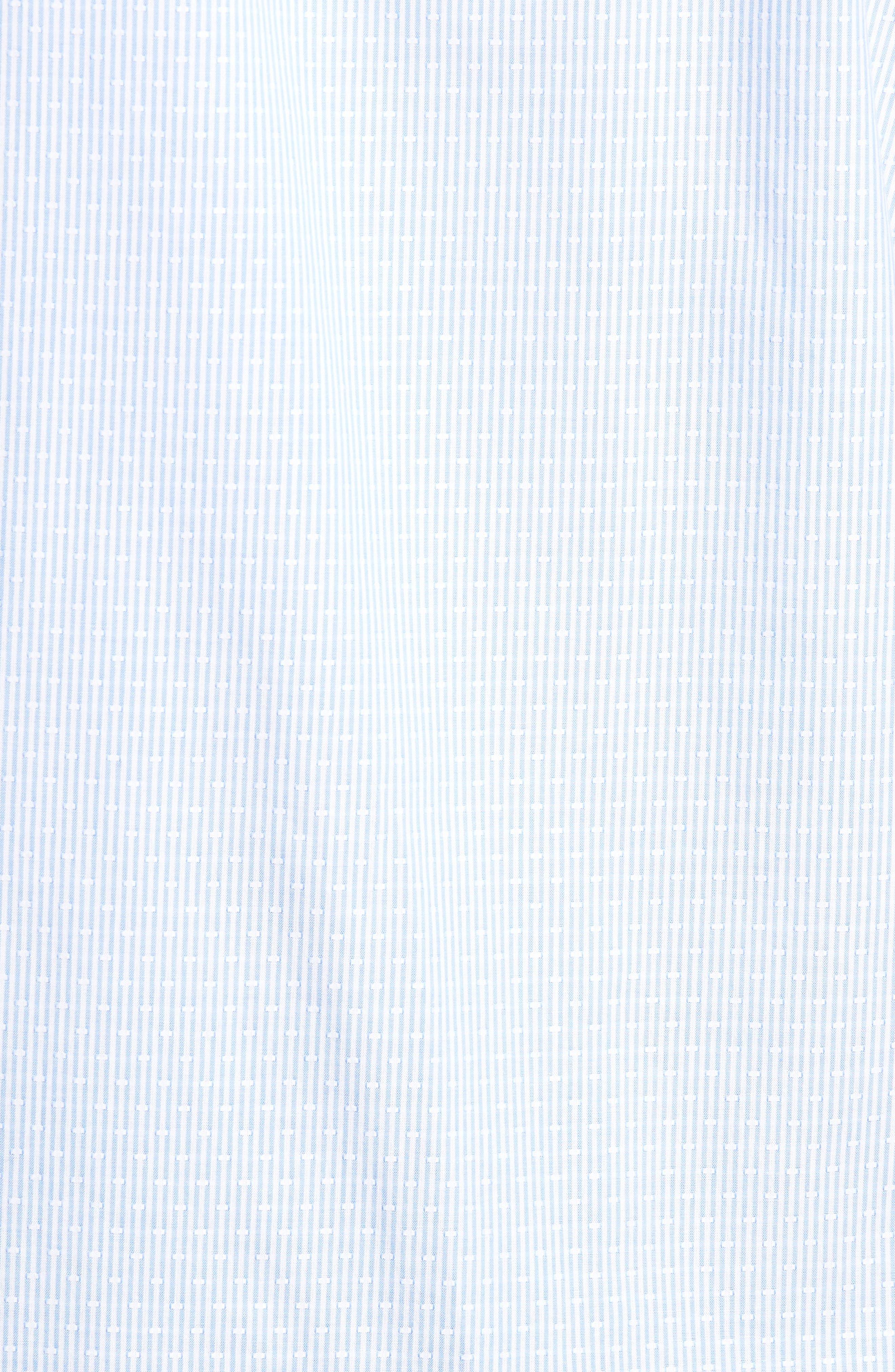 Regular Fit Stripe Sport Shirt,                             Alternate thumbnail 5, color,                             020