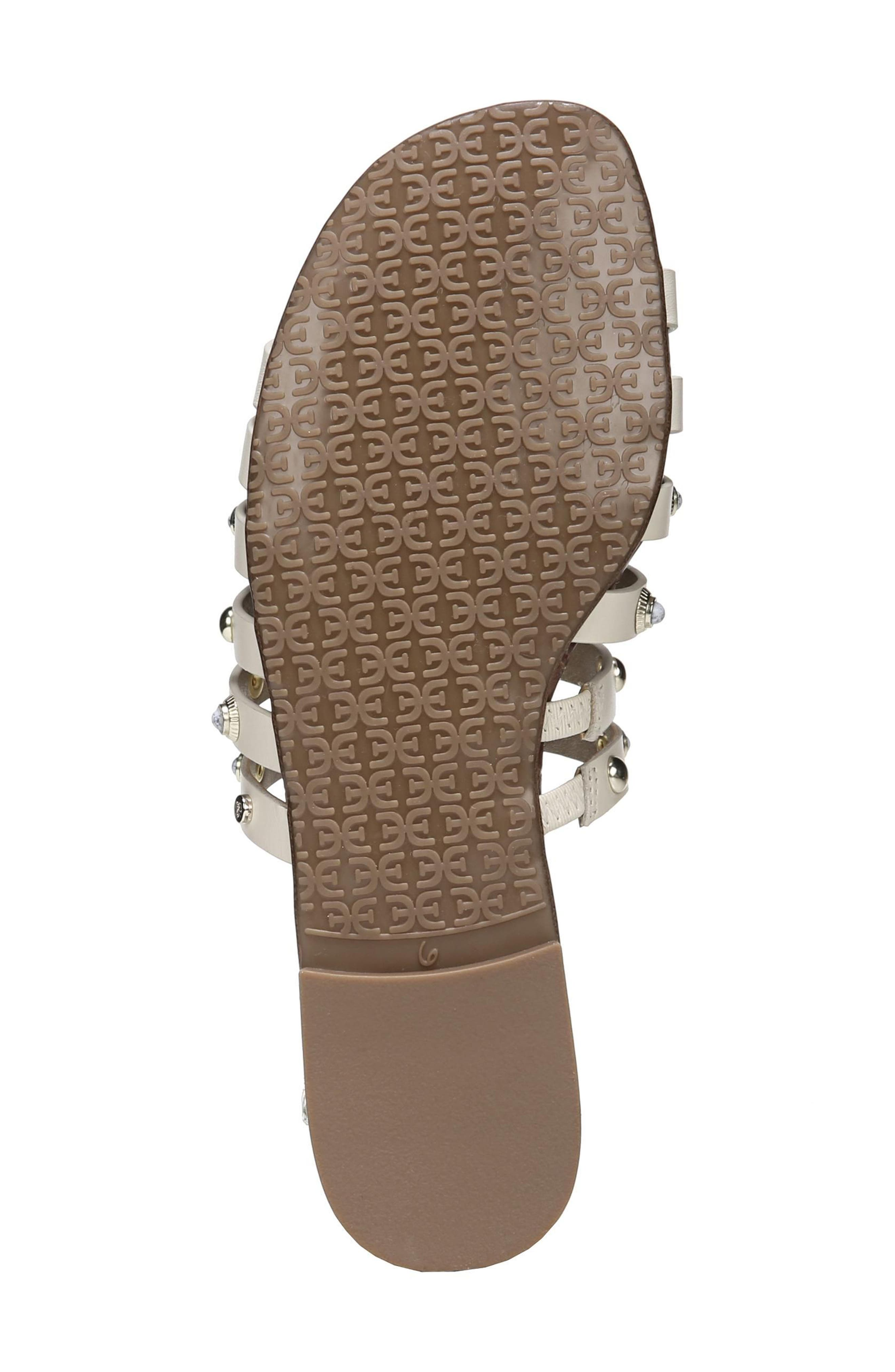 Brea Studded Slide Sandal,                             Alternate thumbnail 17, color,