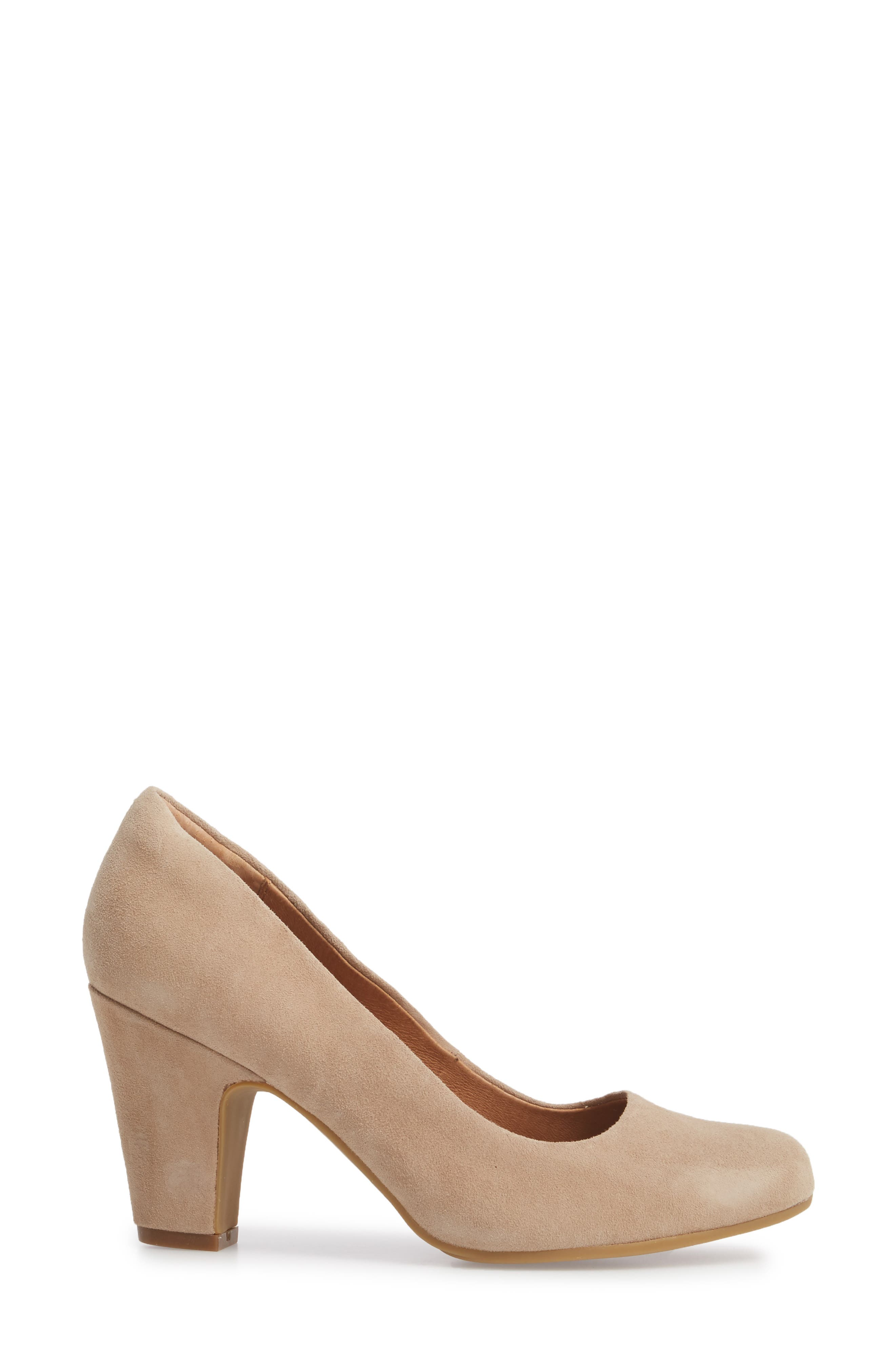 Madina Pump,                             Alternate thumbnail 3, color,                             BAYWATER SUEDE