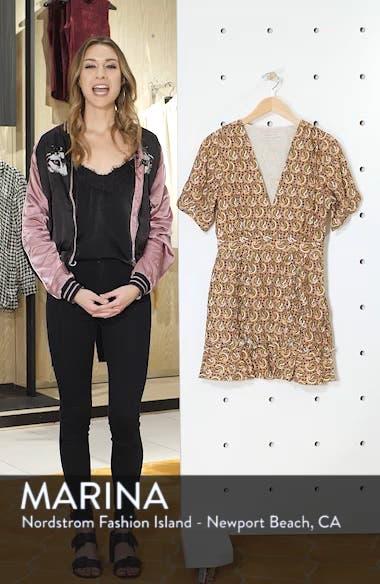 Alix Paisley Minidress, sales video thumbnail