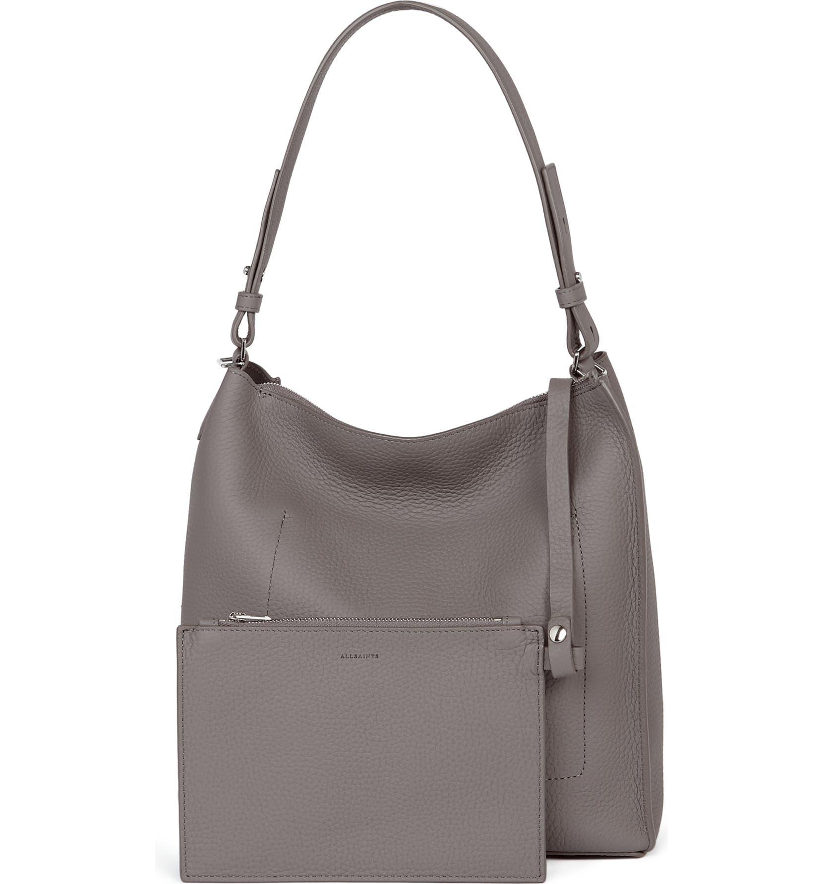 57aa743248 ALLSAINTS  Kita  Leather Shoulder Crossbody Bag
