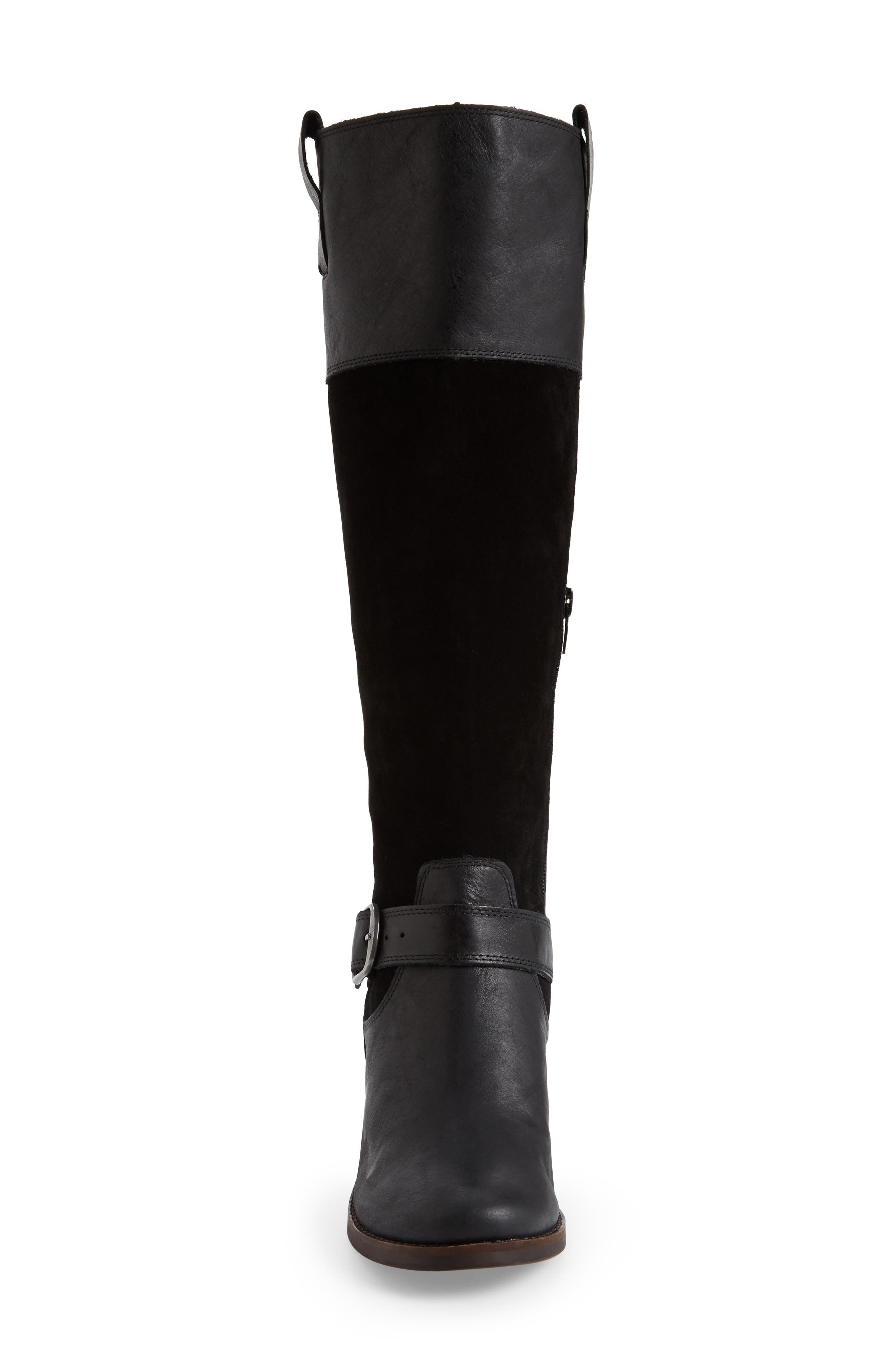 Kailan Ankle Strap Tall Boot,                             Alternate thumbnail 10, color,