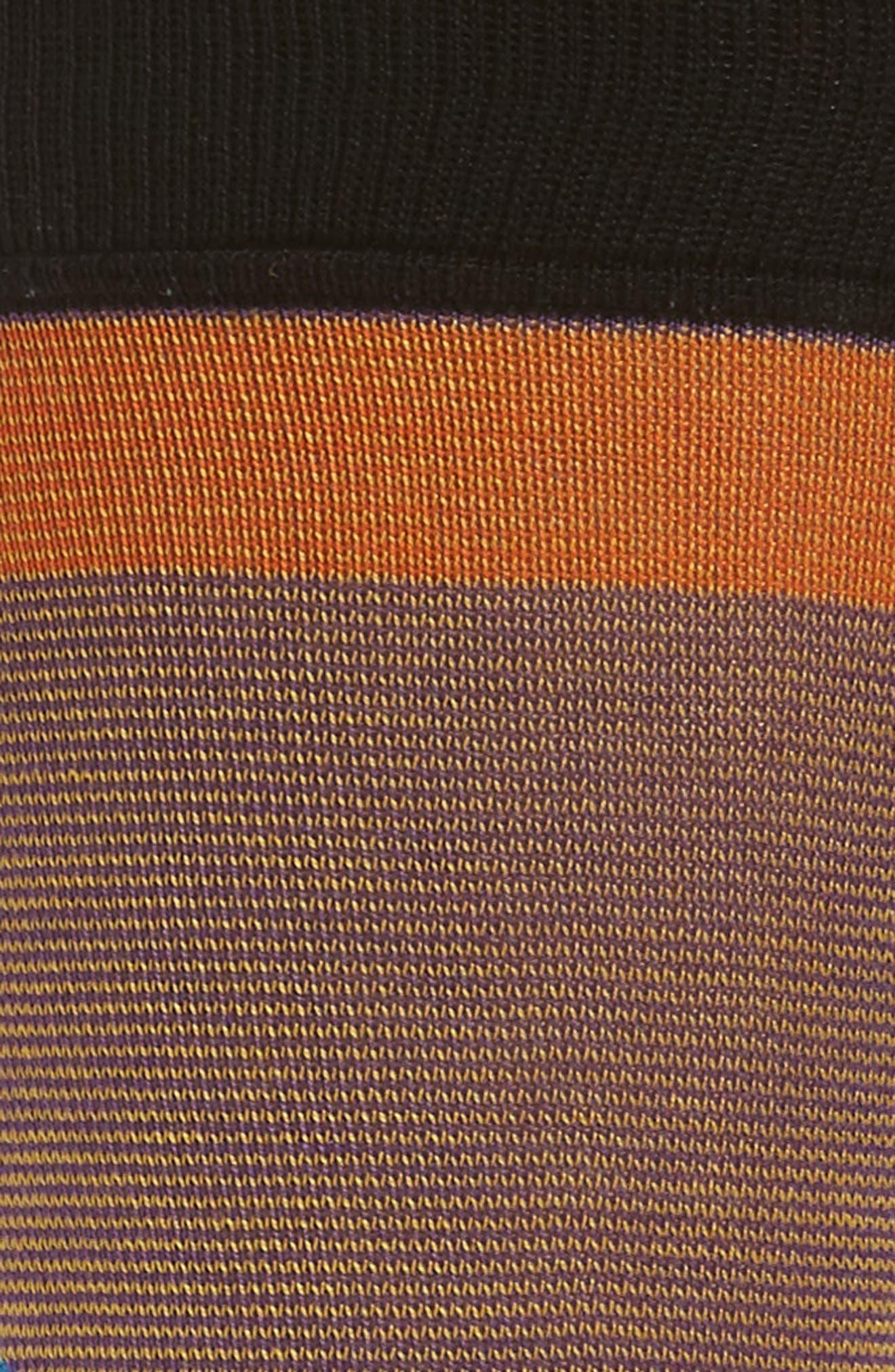 Geometric Crew Socks,                             Alternate thumbnail 2, color,                             001