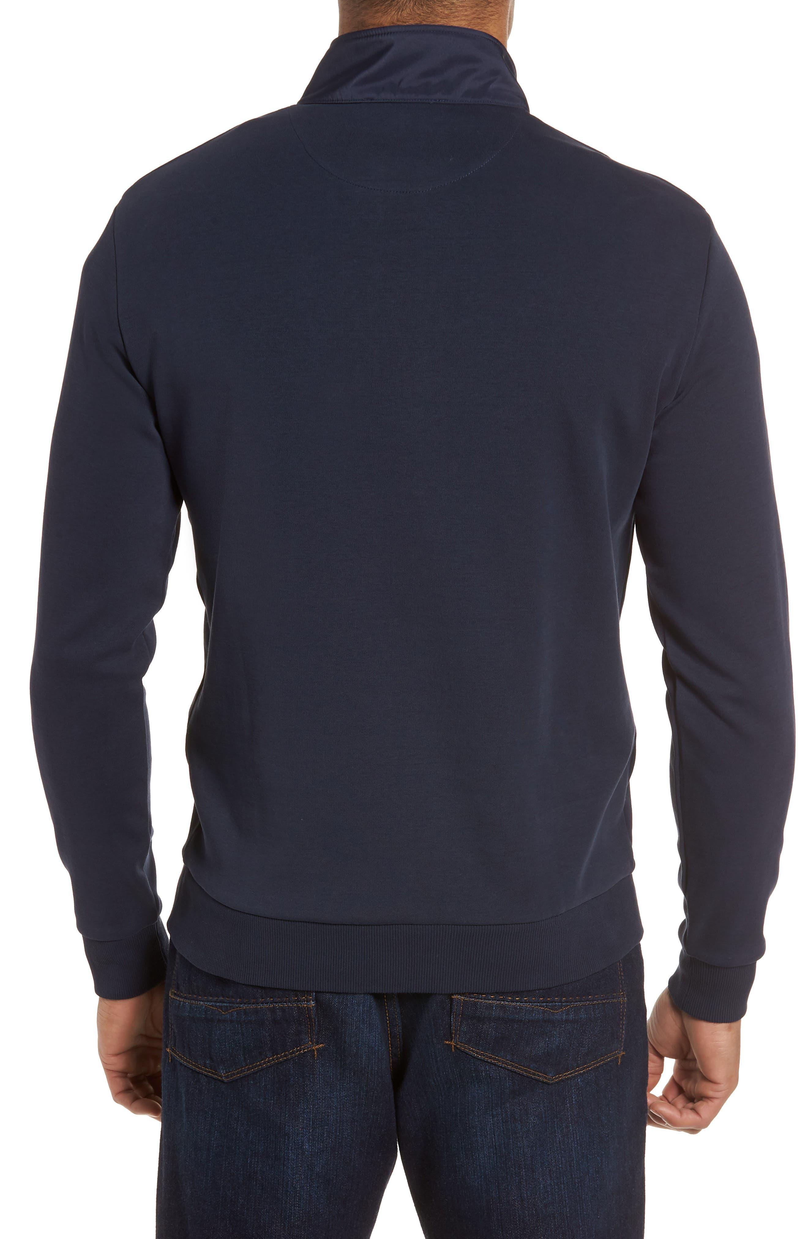 Regular Fit Quarter Zip Pullover,                             Alternate thumbnail 2, color,                             411