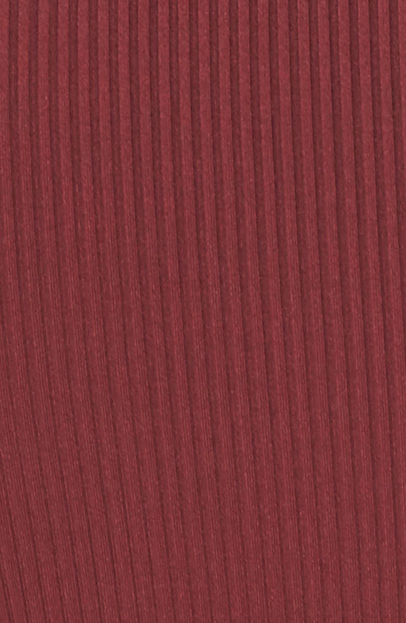 Lace-Up Bodysuit,                             Alternate thumbnail 5, color,                             930