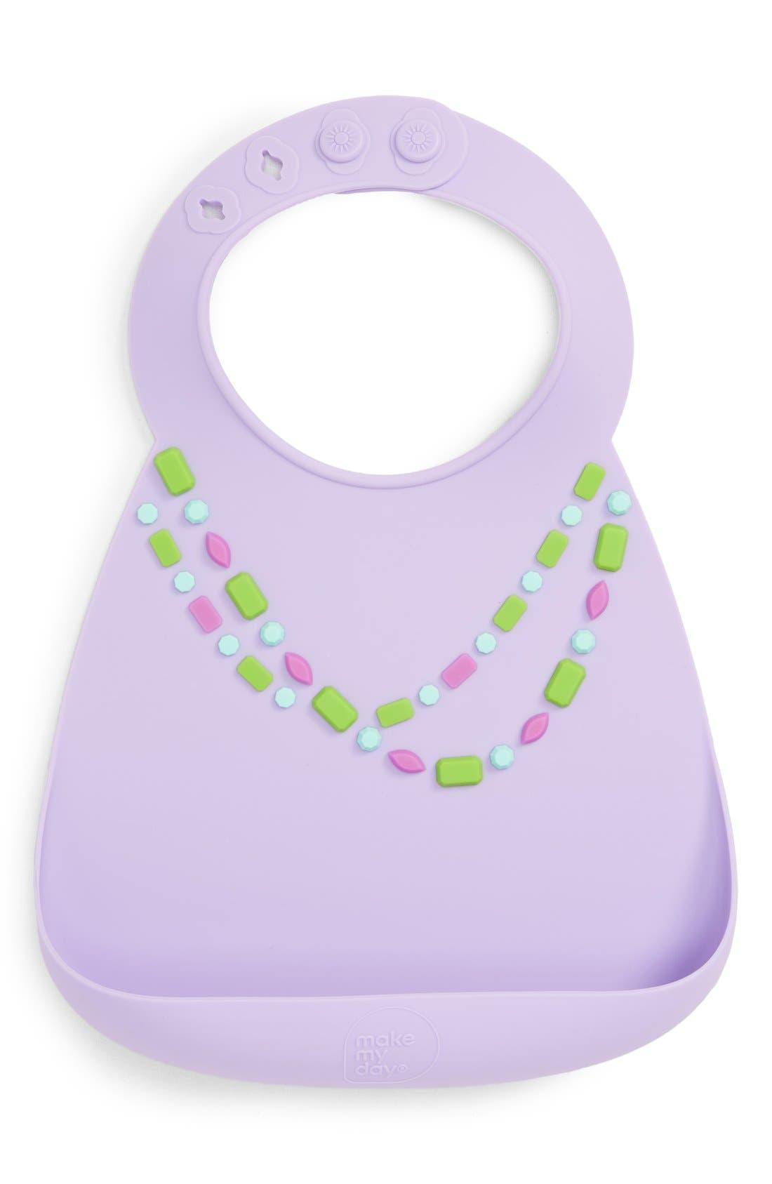 'For a Lil Sparkle' Bib,                         Main,                         color, JEWEL