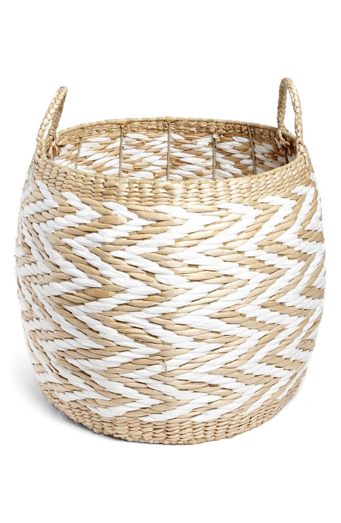 Large Drum Basket,                             Main thumbnail 1, color,                             250