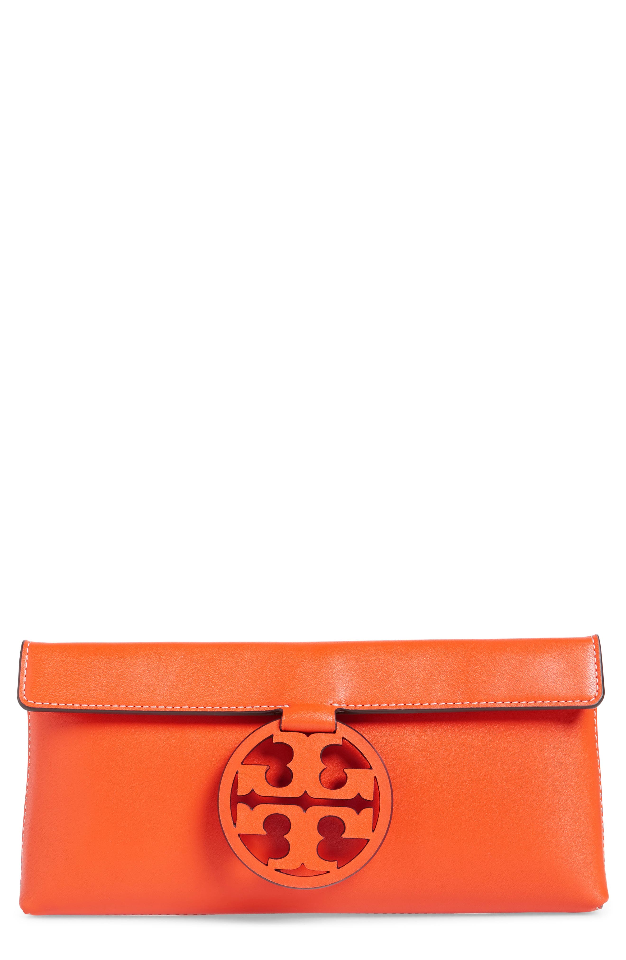 Miller Leather Clutch,                             Main thumbnail 3, color,