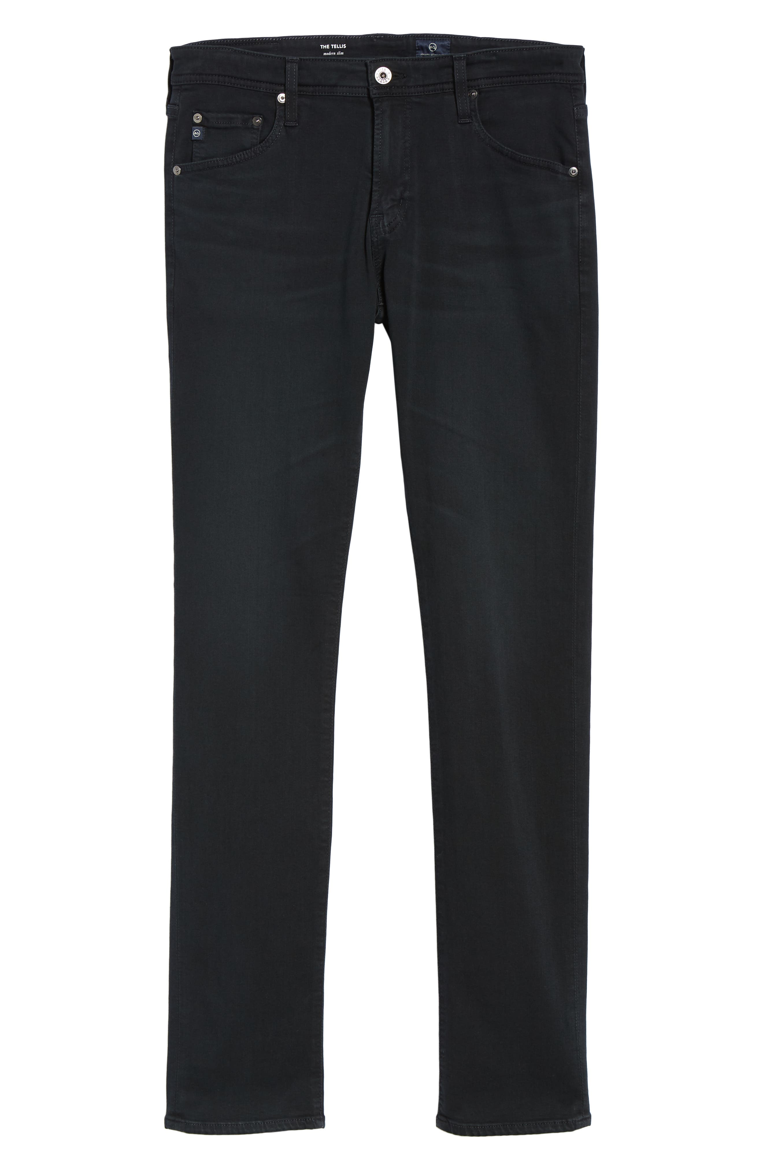 Tellis Slim Fit Jeans,                             Alternate thumbnail 6, color,                             BIG SUR