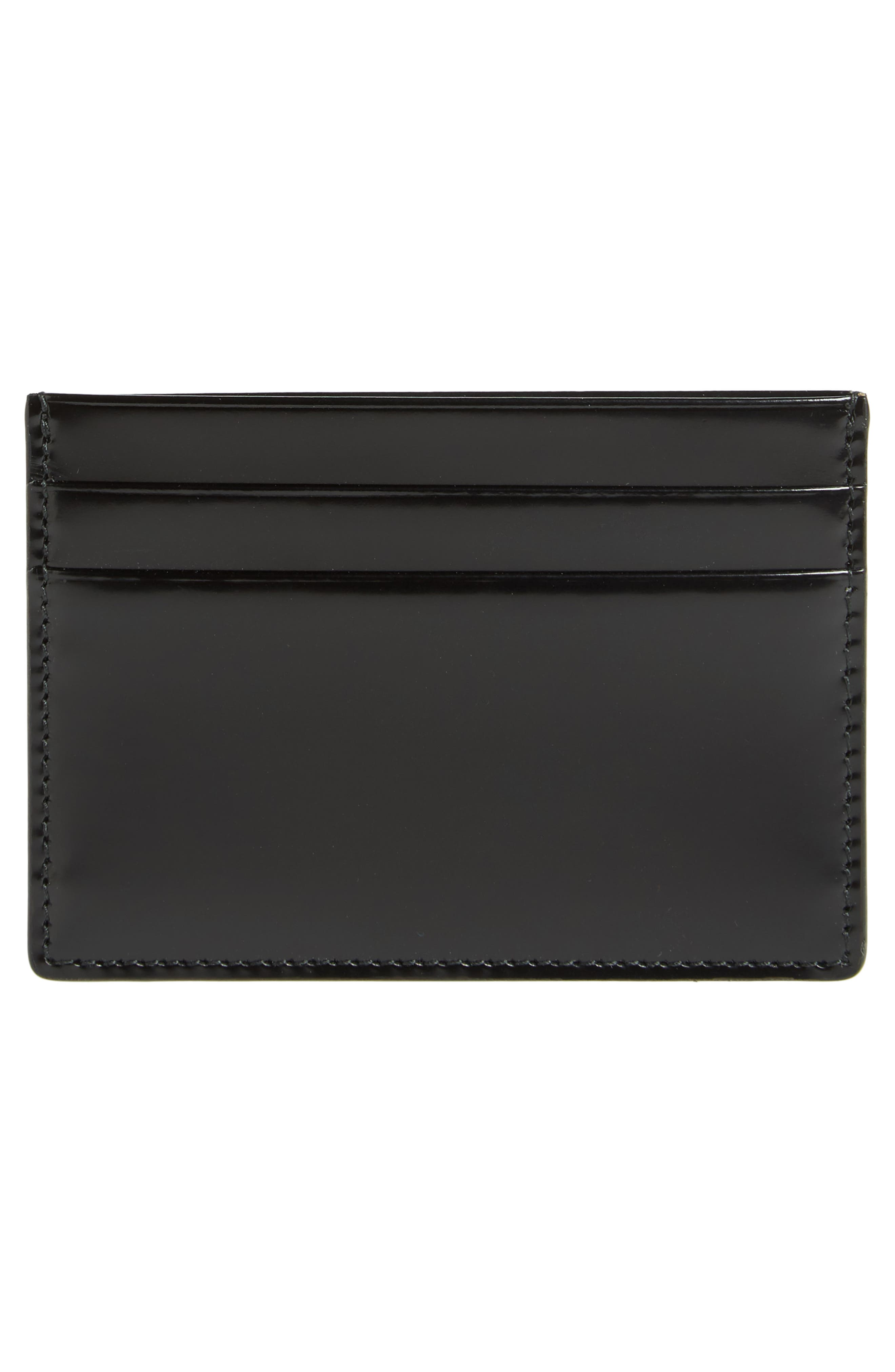 Patent Leather Card Case,                             Alternate thumbnail 2, color,                             001