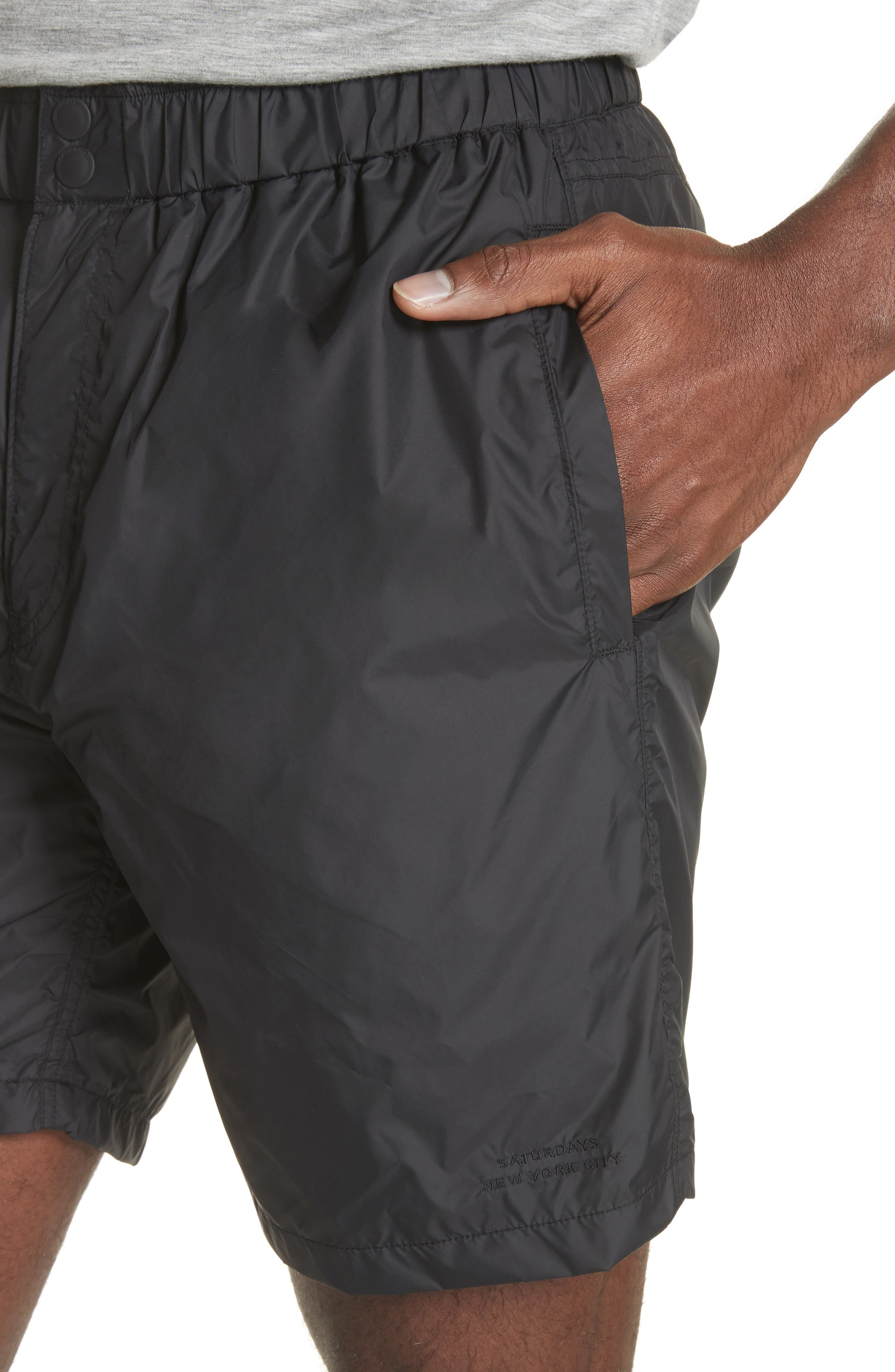 Trent Hybrid Shorts,                             Alternate thumbnail 4, color,                             001