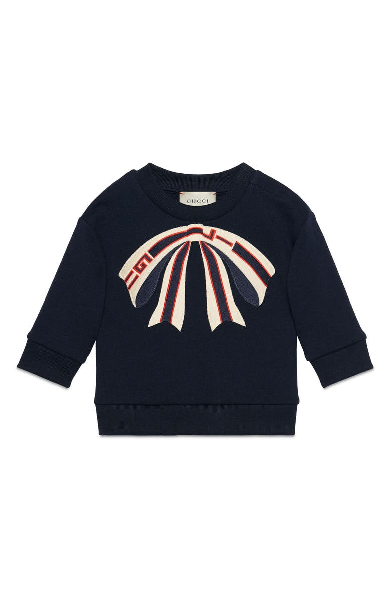 31a08f7cd Gucci Bow Appliqué Sweatshirt (Baby Girls)