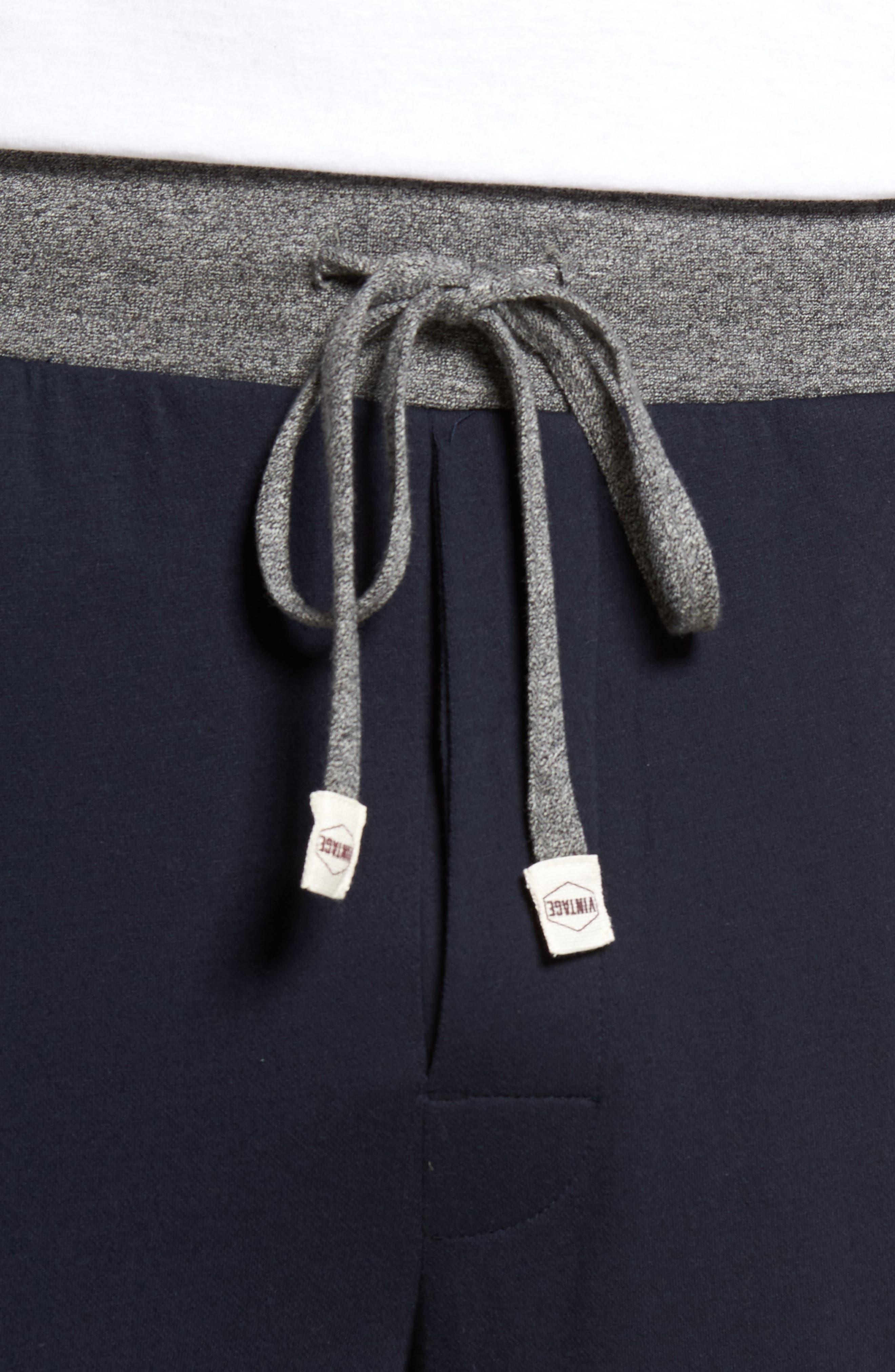 Trey Knit Lounge Pants,                             Alternate thumbnail 5, color,                             400
