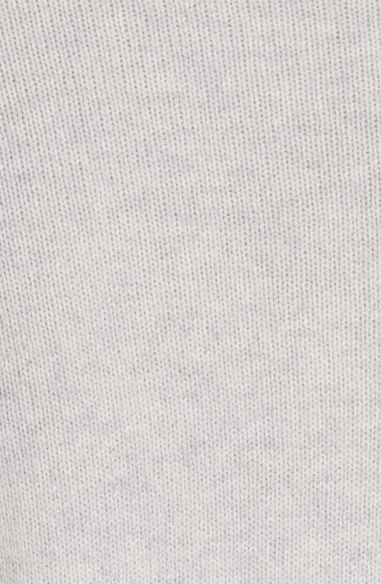 Lace Trim Knit Pullover,                             Alternate thumbnail 5, color,