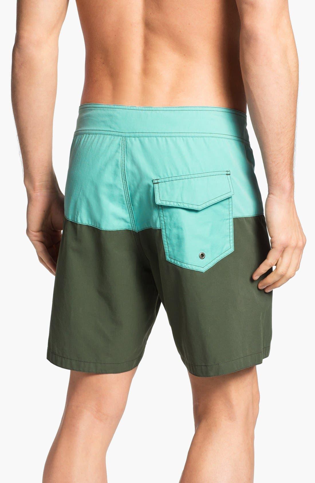 LIGHTNING BOLT,                             'Surfari' Board Shorts,                             Alternate thumbnail 3, color,                             440