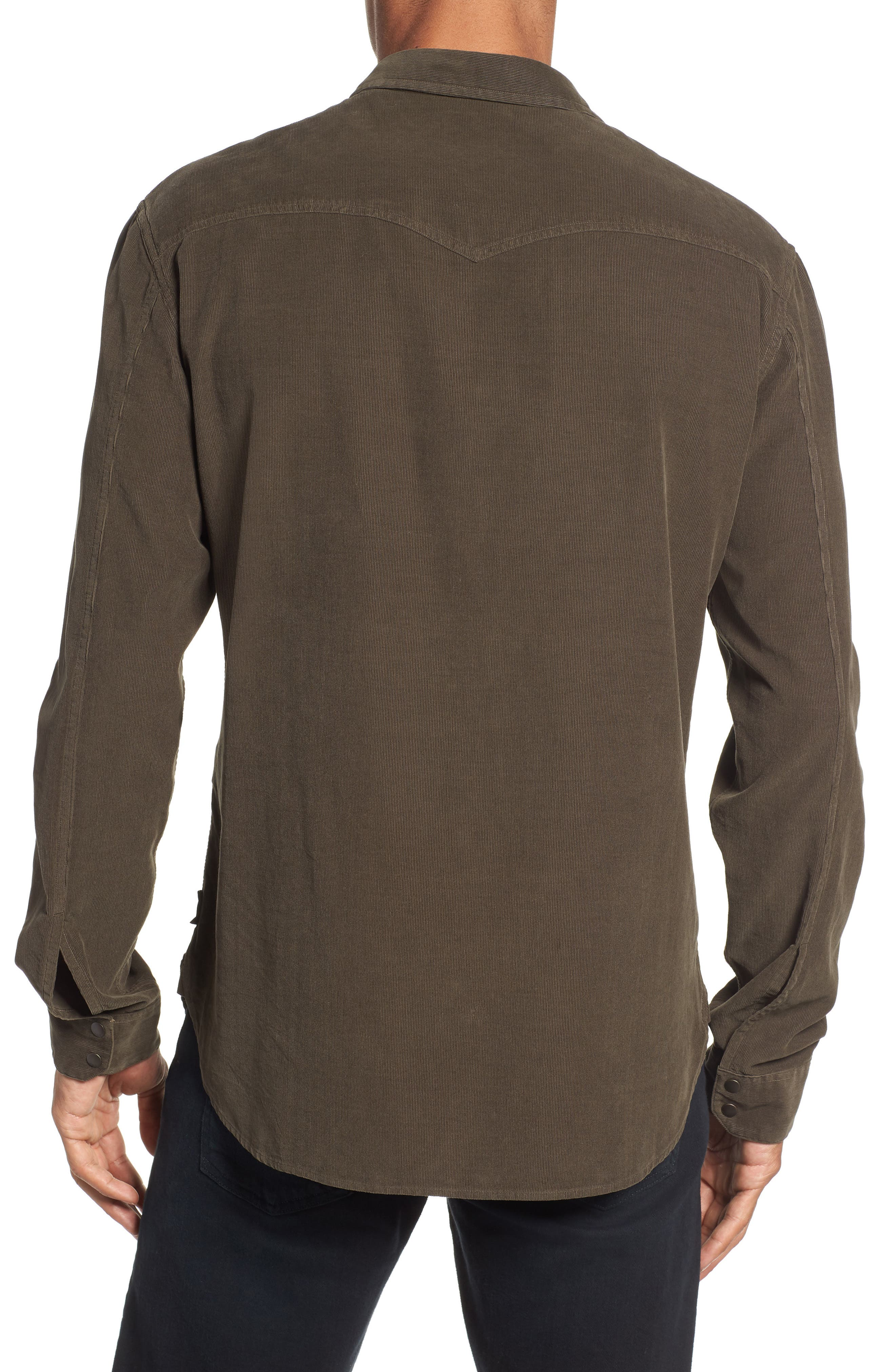 Corduroy Shirt,                             Alternate thumbnail 3, color,                             391