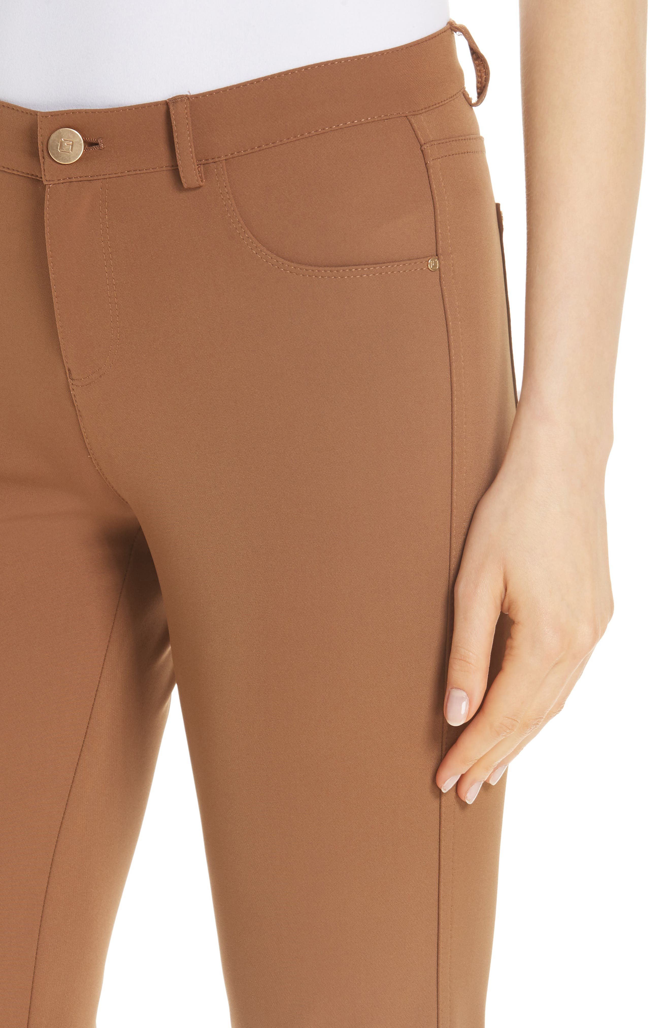 Mercer Acclaimed Stretch Skinny Pants,                             Alternate thumbnail 4, color,                             MAPLE