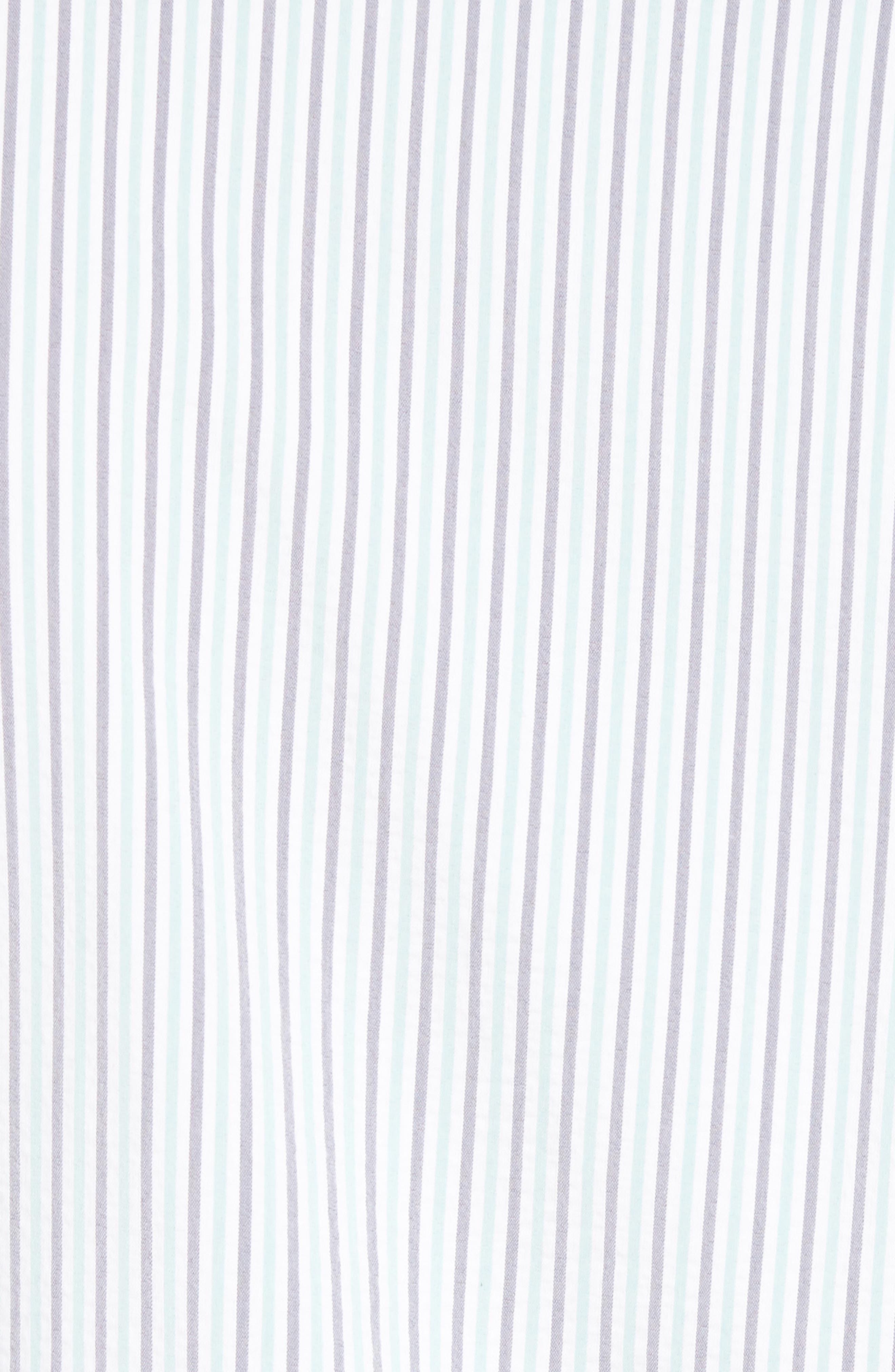 Eastland Short Sleeve Sport Shirt,                             Alternate thumbnail 5, color,                             GREEN