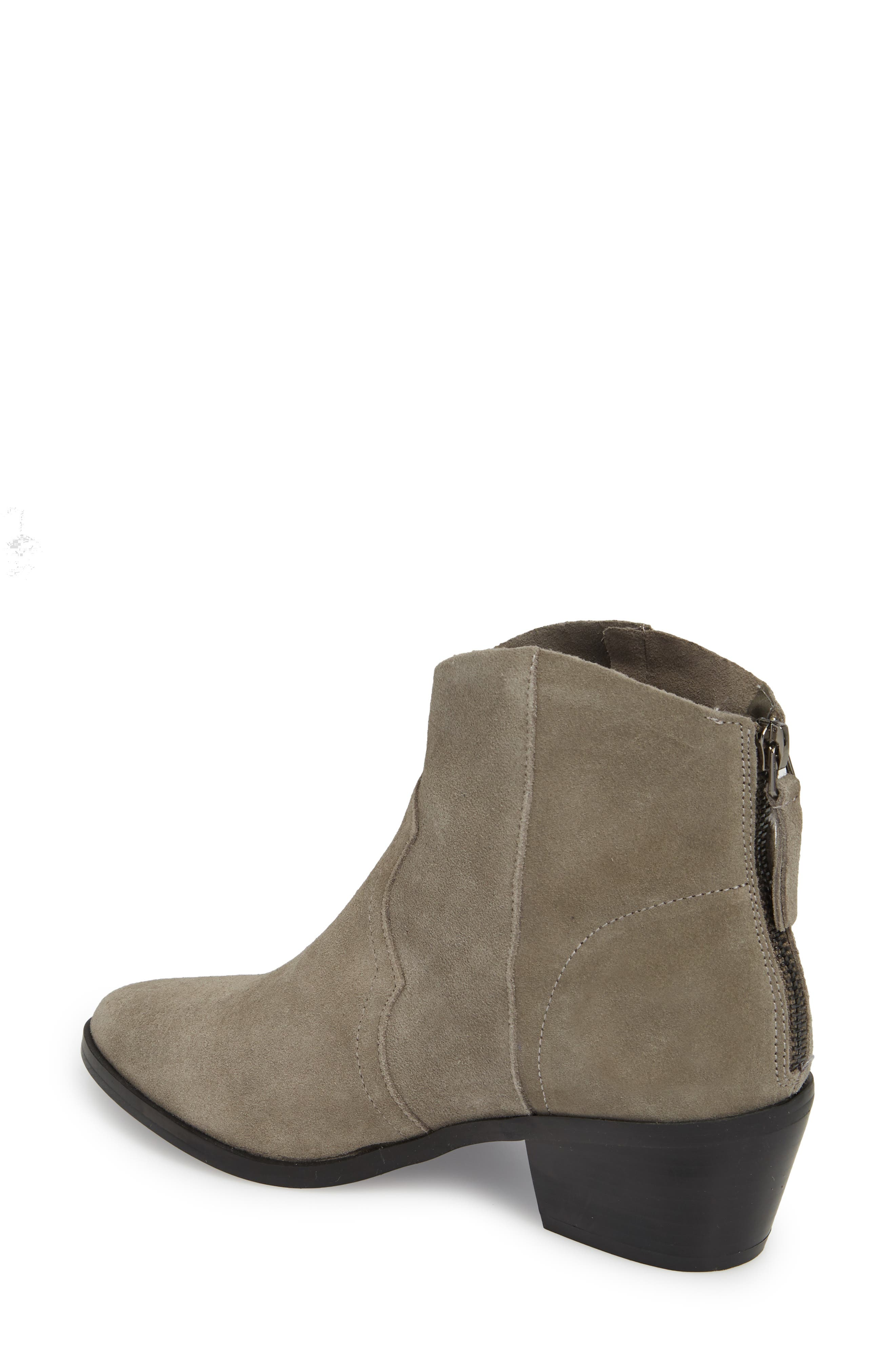Betty Western Bootie,                             Alternate thumbnail 2, color,                             GREY