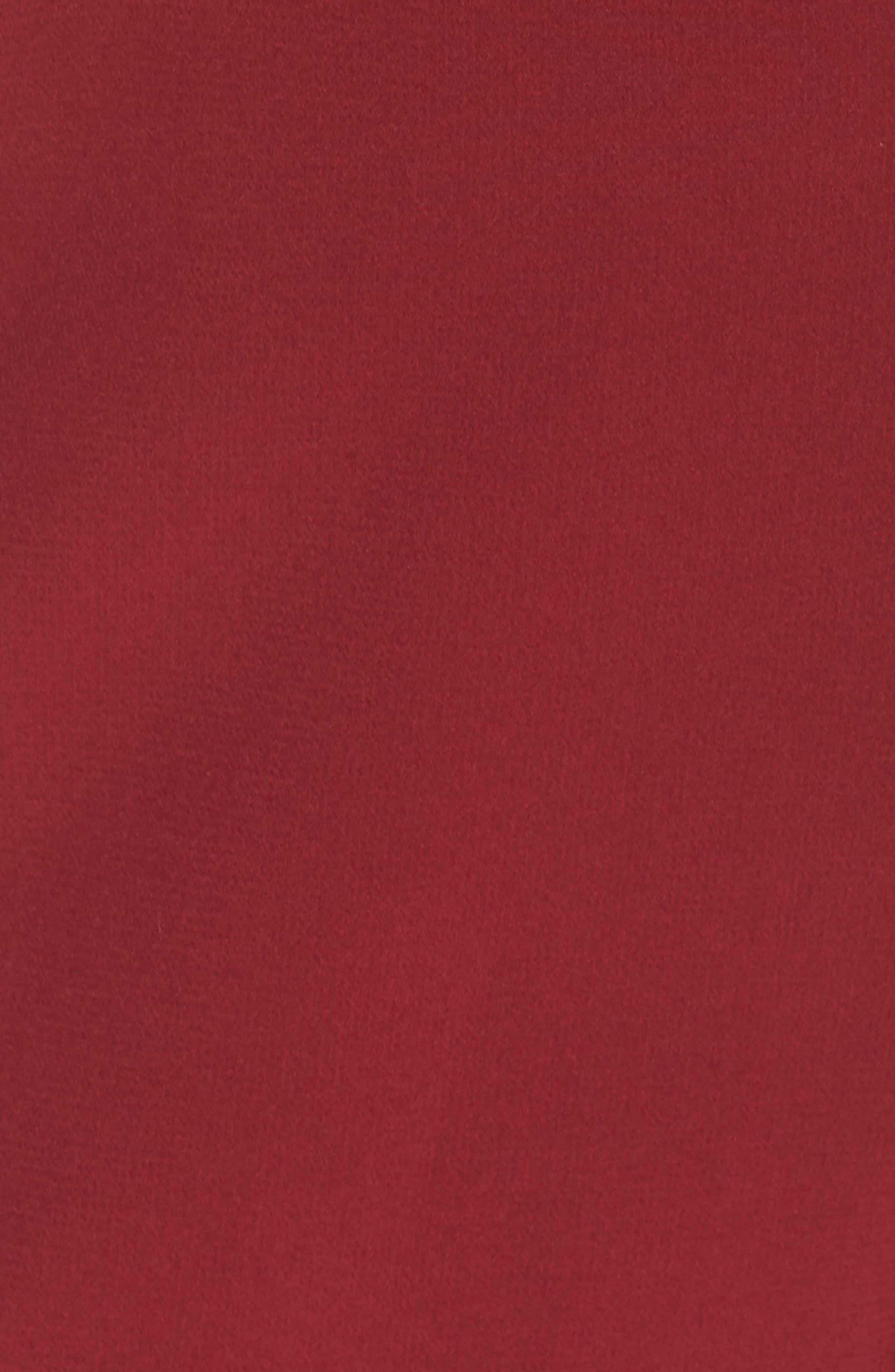 Denise Halter Jumpsuit,                             Alternate thumbnail 6, color,                             BULL RED