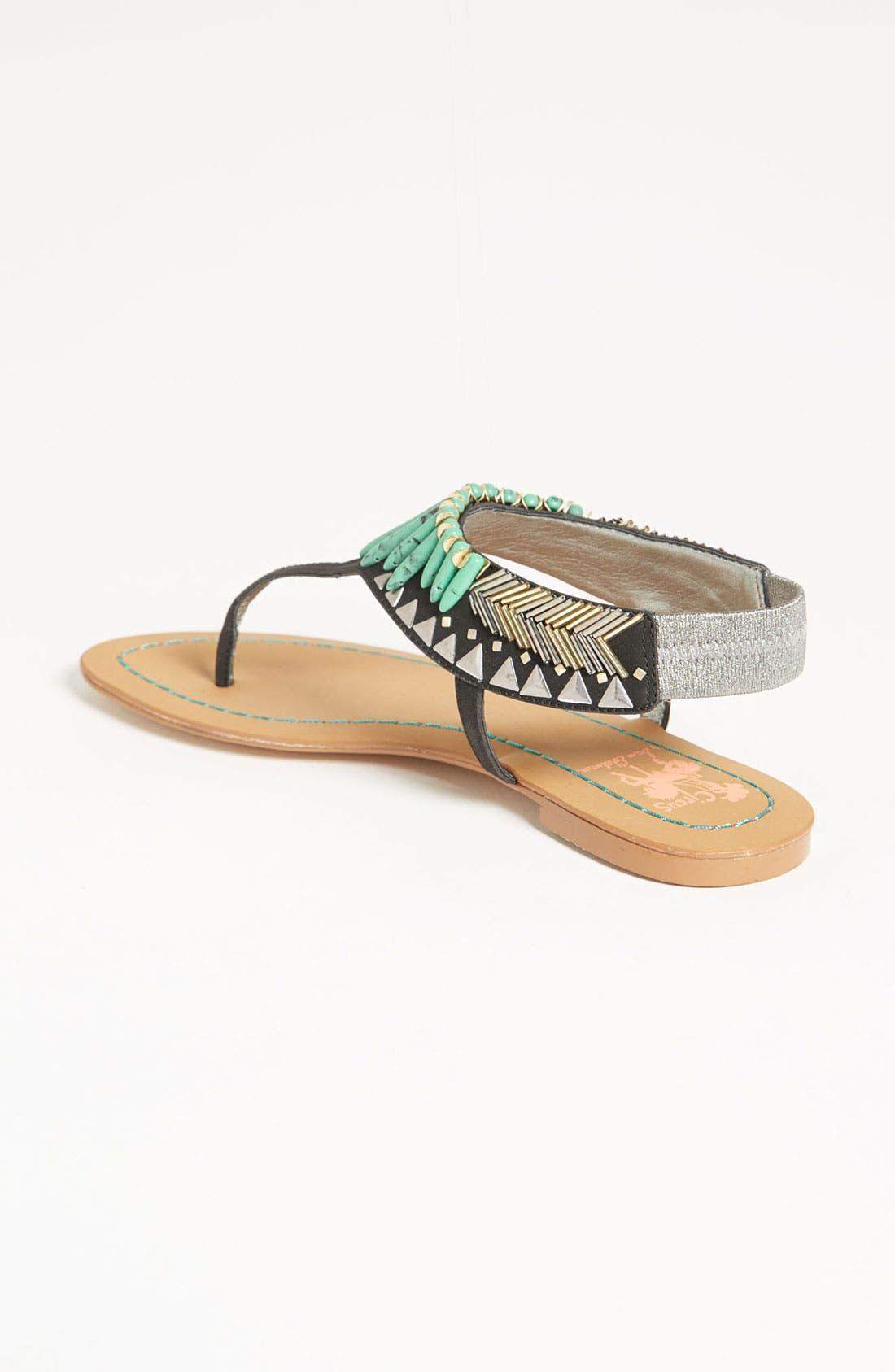 'Brina' Sandal,                             Alternate thumbnail 5, color,                             001